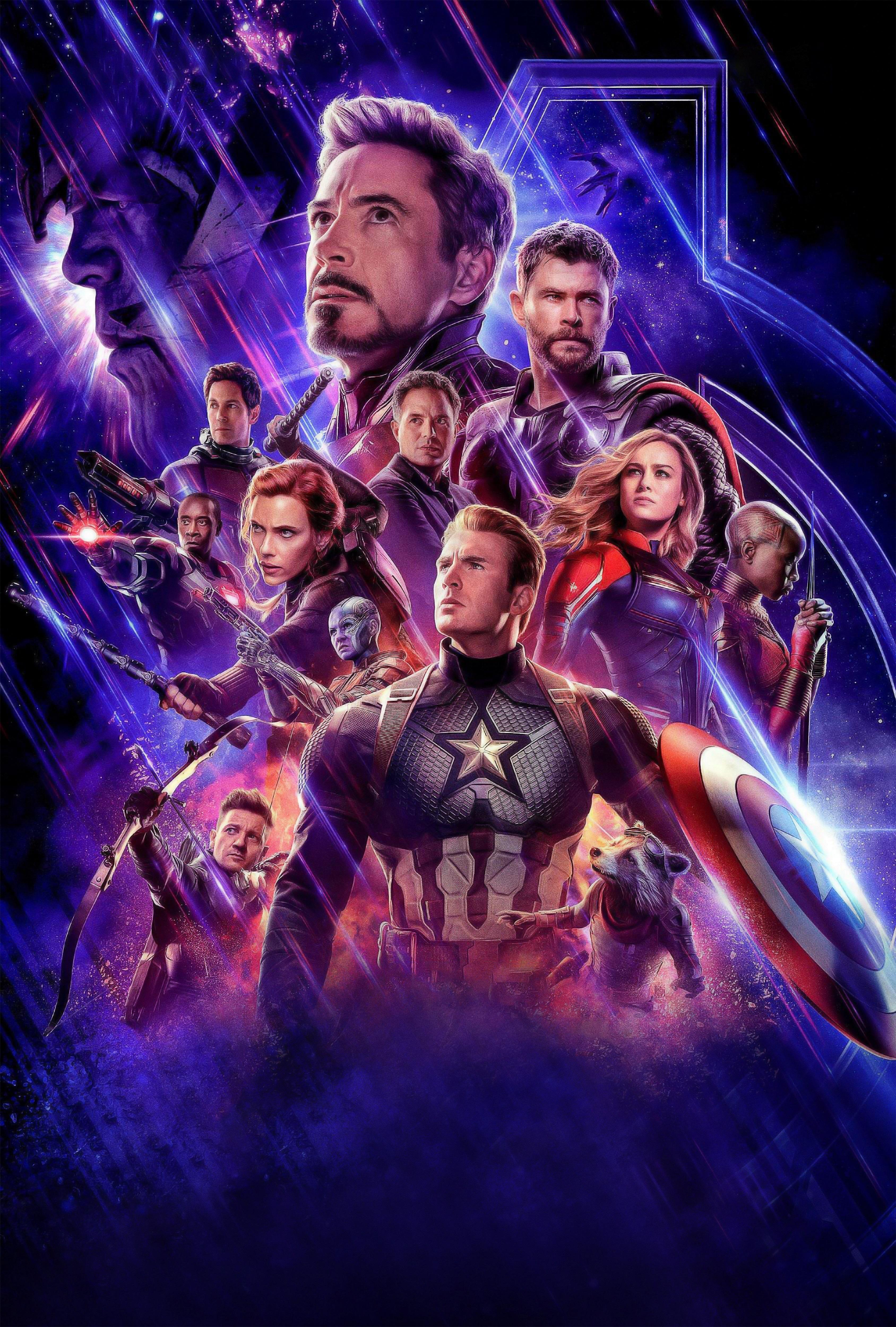 Avengers Endgame Official Poster Wallpaper, HD Movies 4K ...