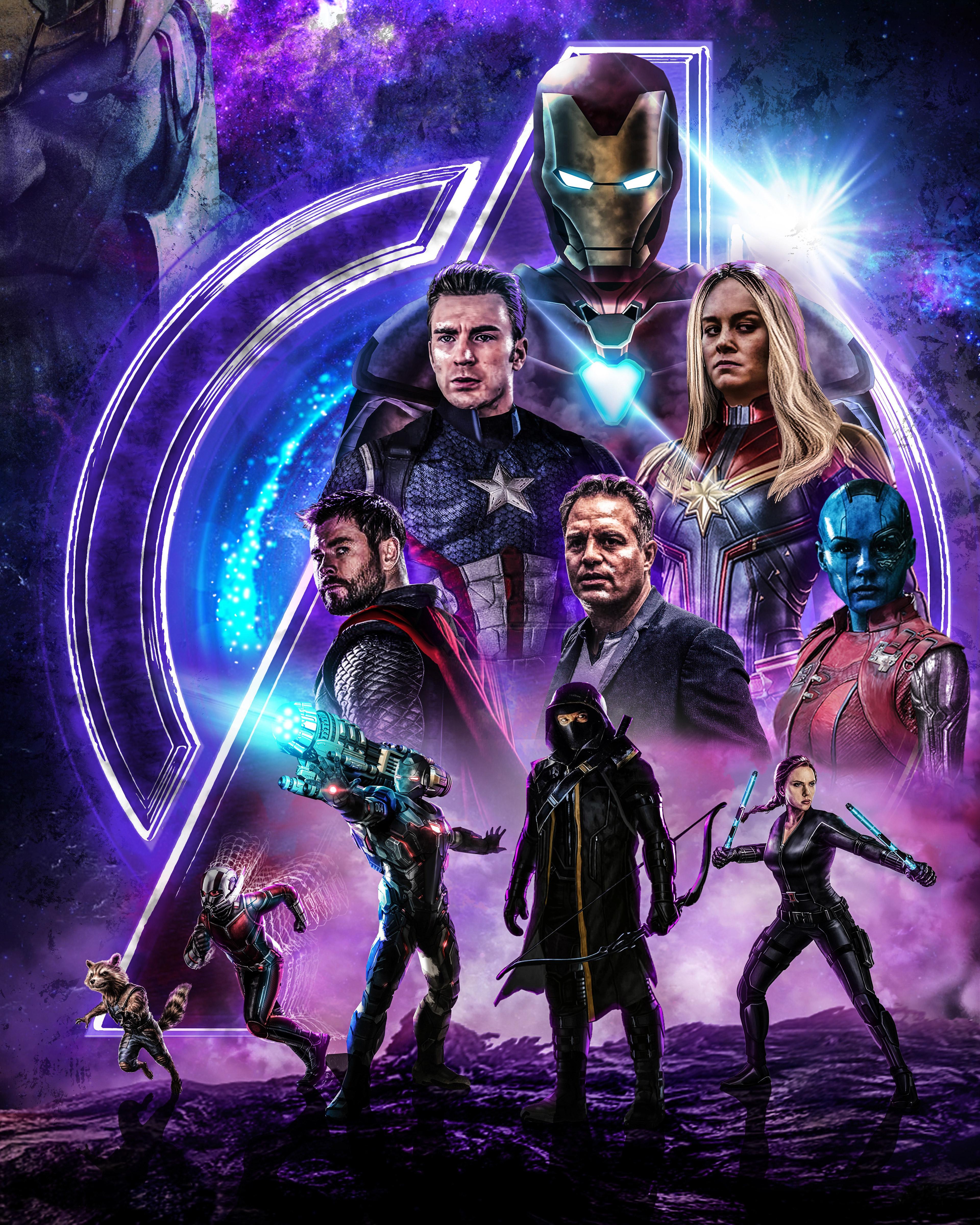 Avengers Endgame Whatever It Takes FanPoster Wallpaper, HD ...