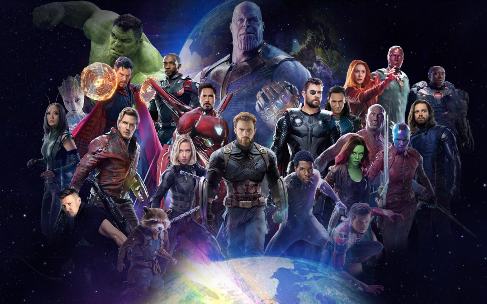 10 New Avengers Infinity War Desktop Wallpaper Full Hd: Download Avengers Infinity War 2018 All Characters Fan