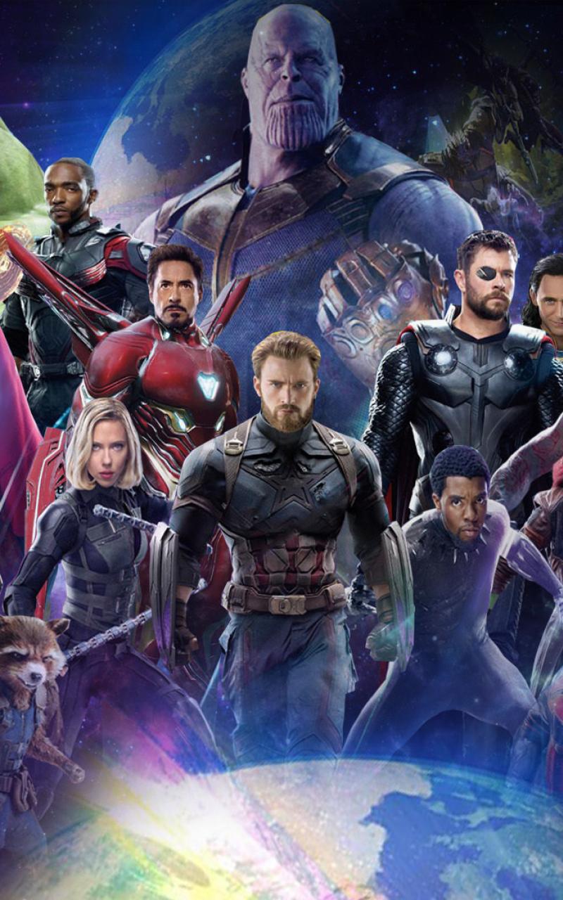 Avengers Infinity War Kinox