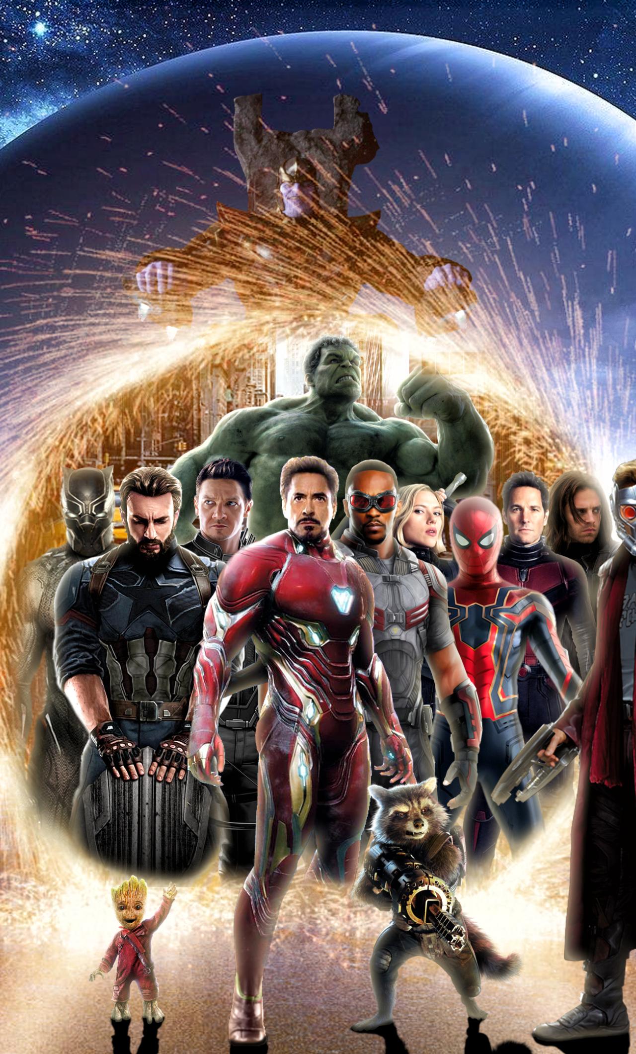 1280x2120 Avengers Infinity War 2018 Digital Art iPhone 6 ...