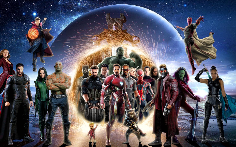 Download Avengers Infinity War 2018 Digital Art 1280x2120 ...