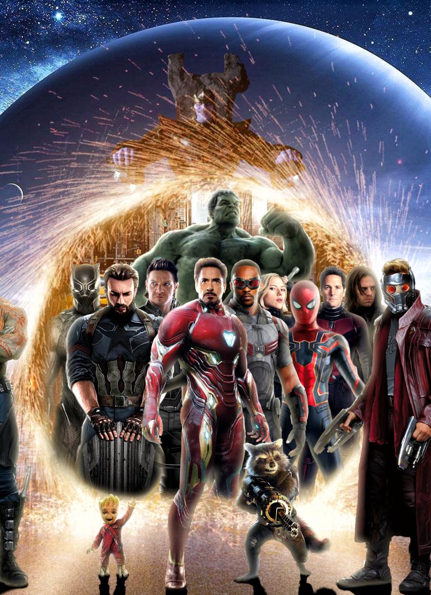 Download avengers infinity war 2018 digital art 1280x2120 - Avengers infinity war wallpaper iphone ...