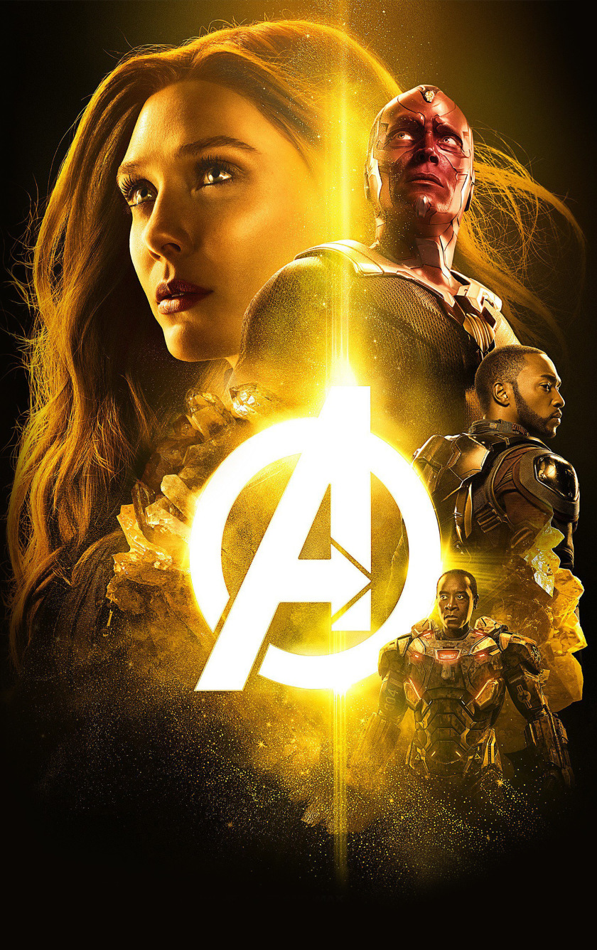 Avengers Infinity War 2018 The Mind Stone Poster, HD 4K ...