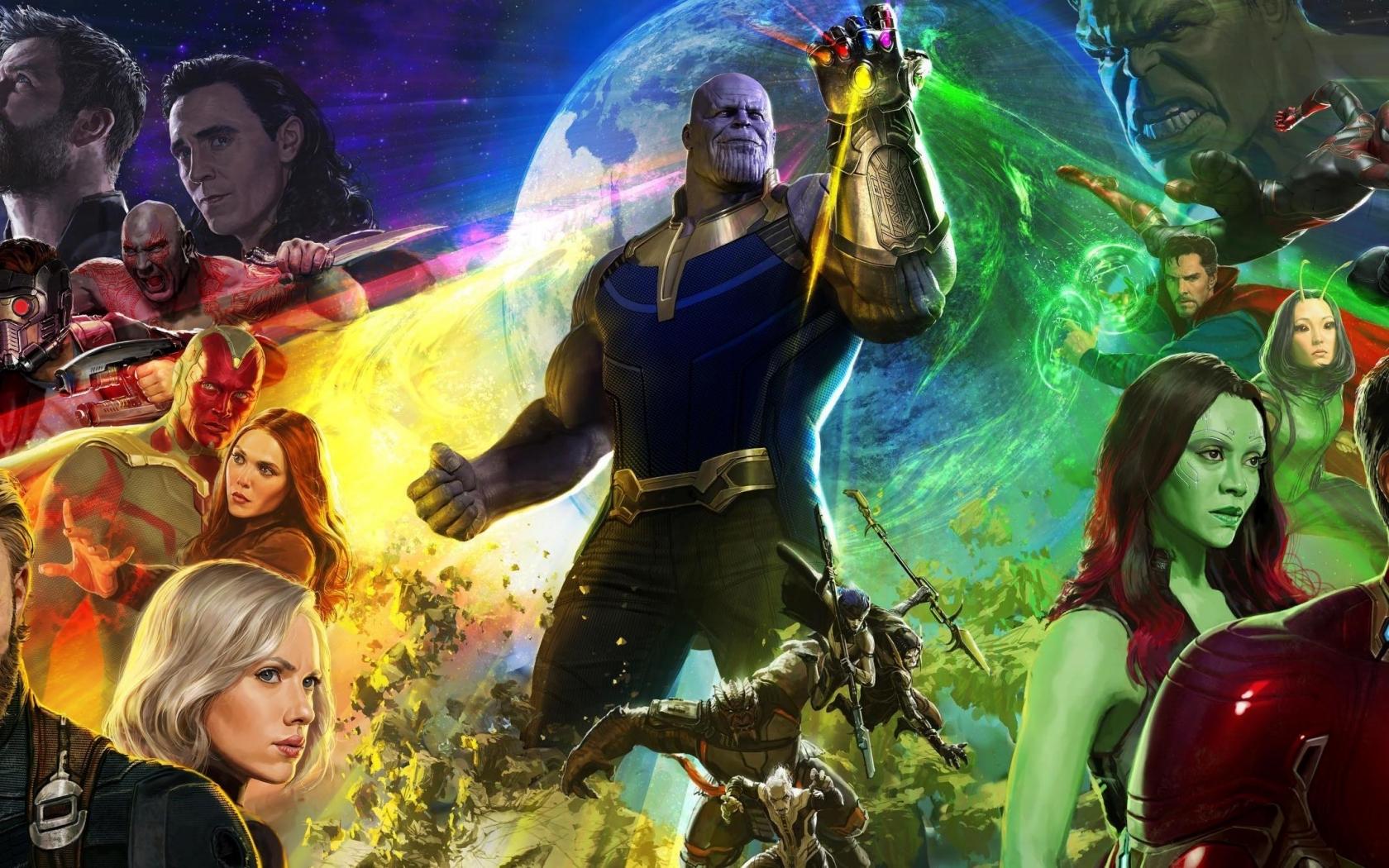 Avengers Infinity War 2018  Hd 4k Wallpaper