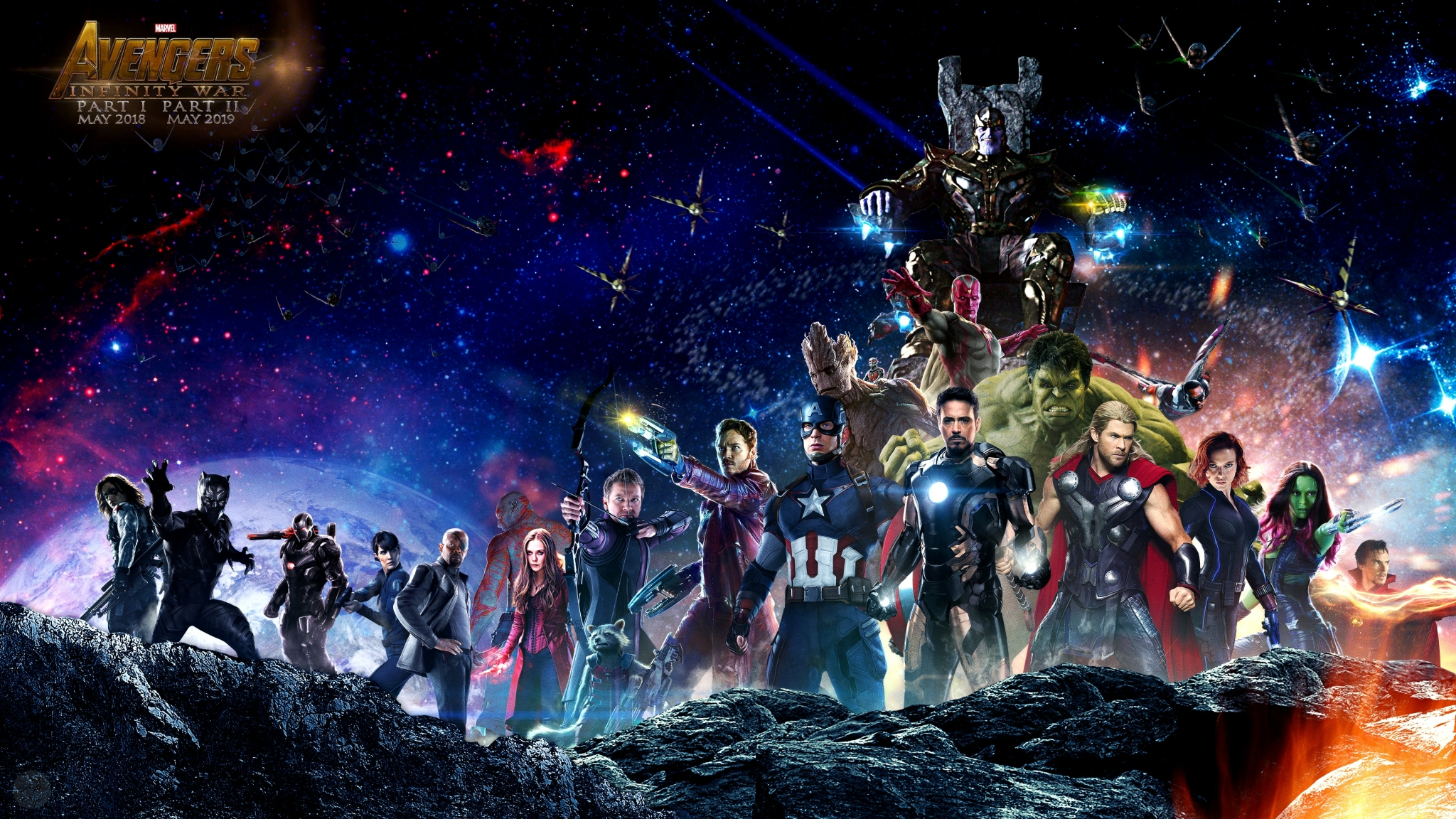 Avengers Infinity War All Superhero Characters Hd 4k
