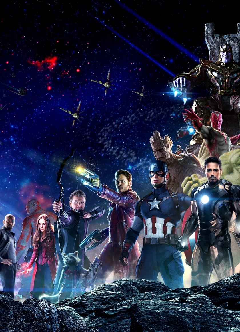Avengers infinity war all superhero characters hd 4k - Avengers infinity war wallpaper iphone ...