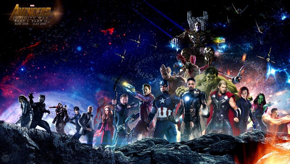 Avengers Infinity War All Superhero Characters HD 4K Wallpaper