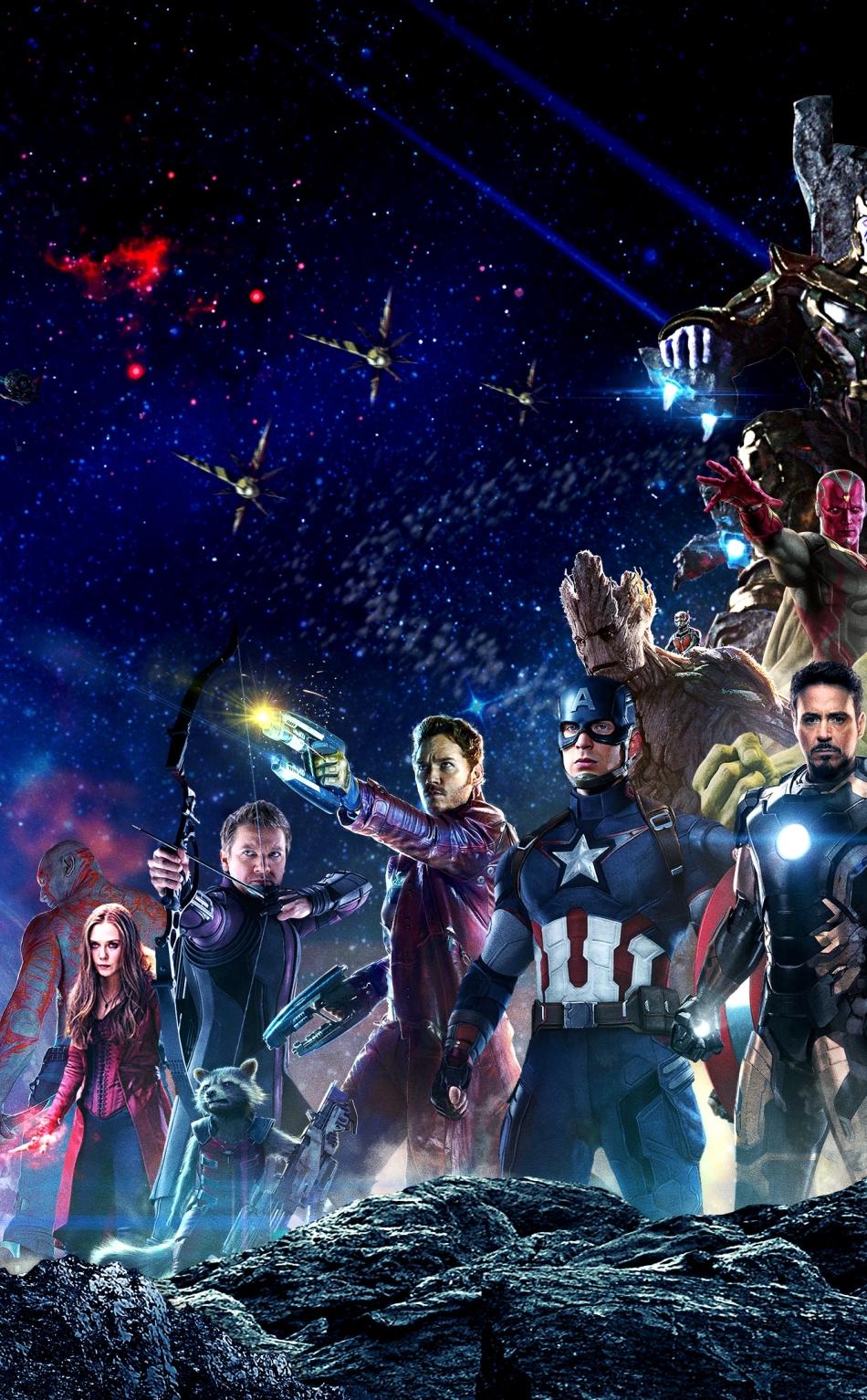 Avengers infinity war all superhero characters hd 4k - Avengers superhero wallpaper ...