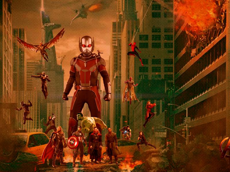 Fandownloadimage: Avengers Infinity War Fan Art, HD 4K Wallpaper