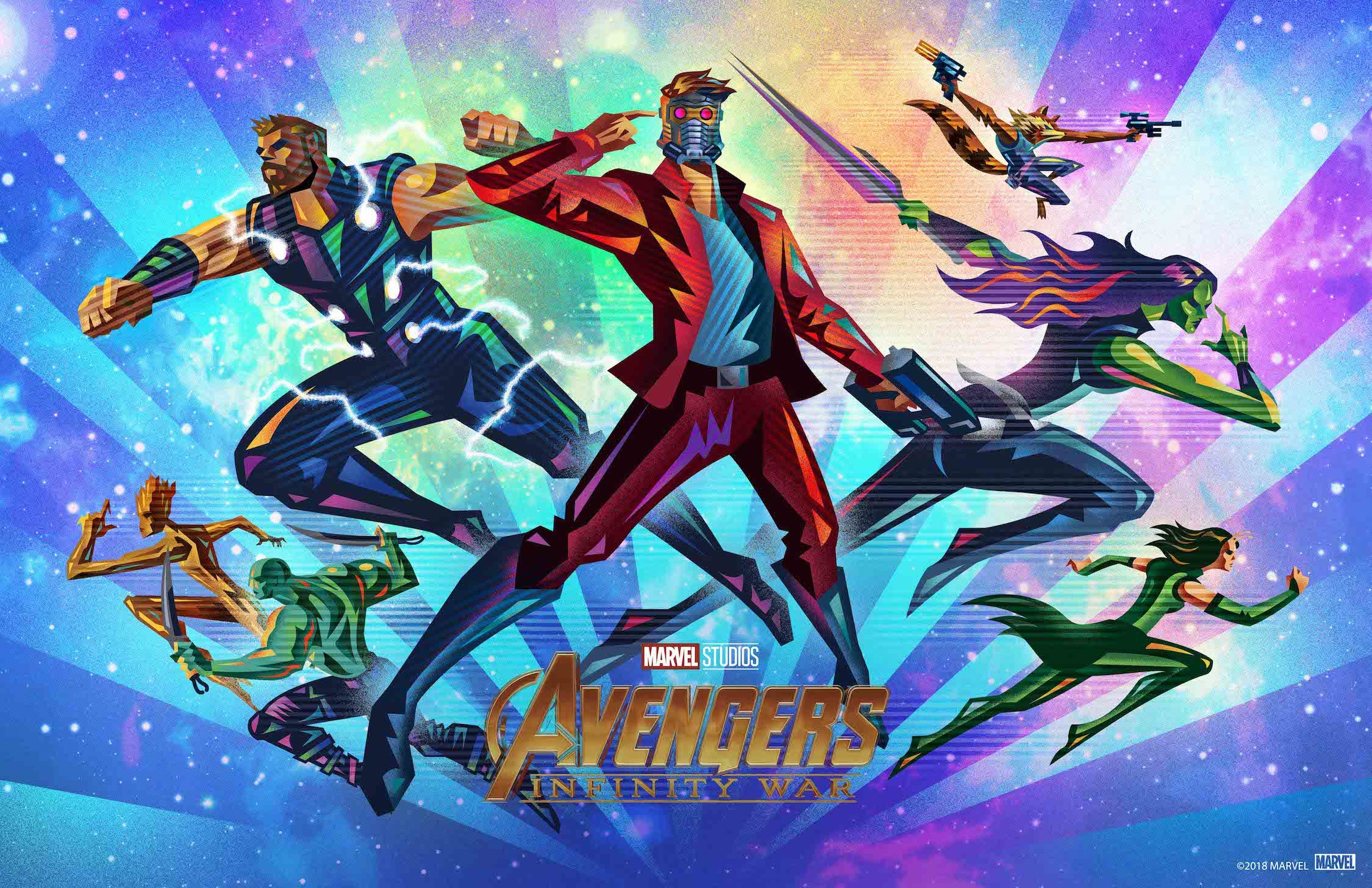 Avengers Infinity War Fandango Poster Full Hd 2k Wallpaper