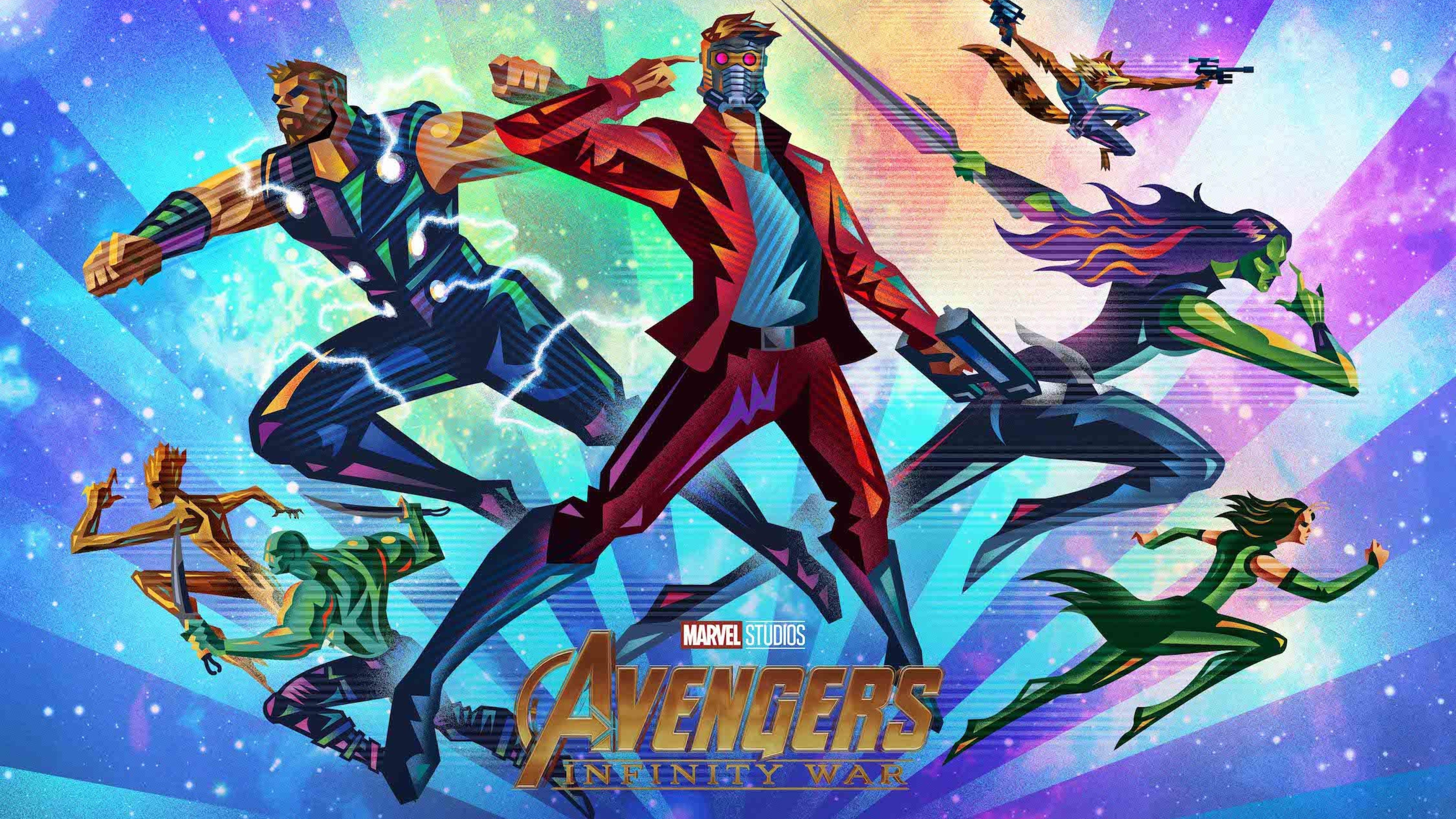 Download Avengers Infinity War Fandango Poster 840x1336