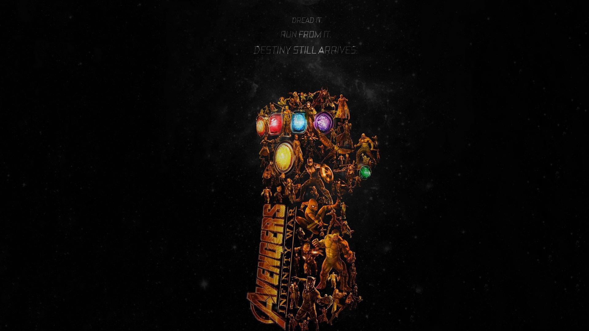10 New Avengers Infinity War Desktop Wallpaper Full Hd: Avengers Infinity War Latest Poster, Full HD Wallpaper