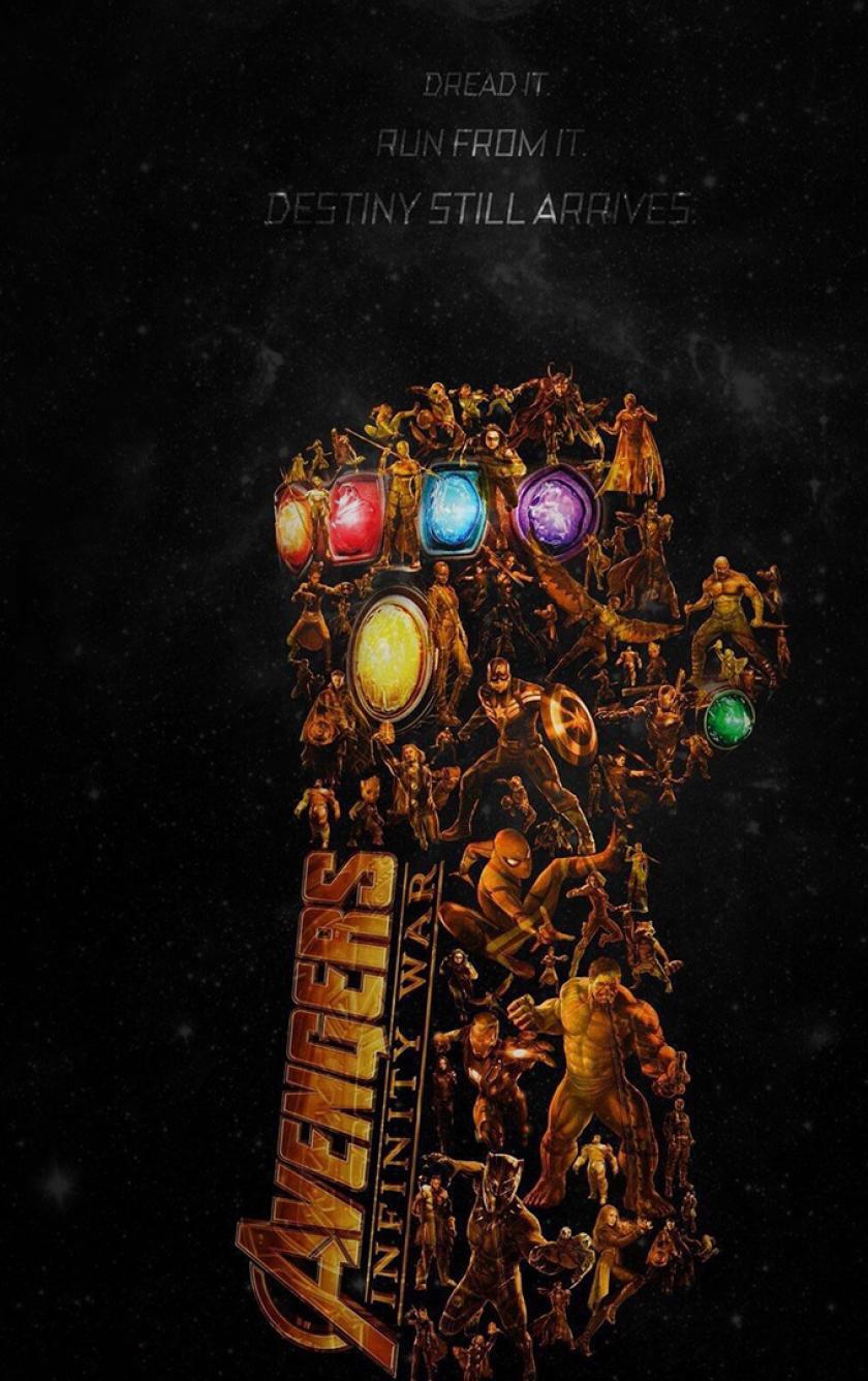 Avengers infinity war latest poster full hd wallpaper - Avengers infinity war wallpaper iphone ...