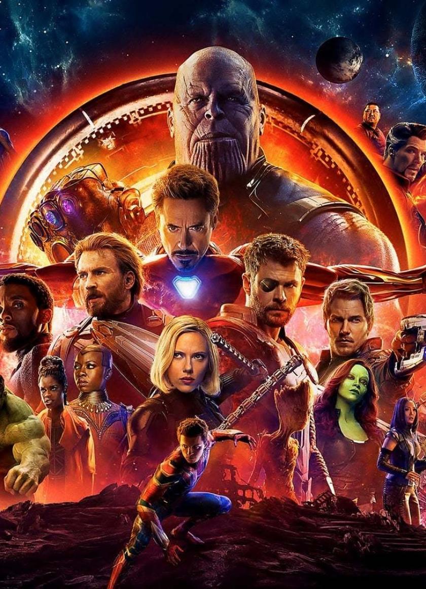 840x1160 Avengers Infinity War Official Poster 840x1160 ...