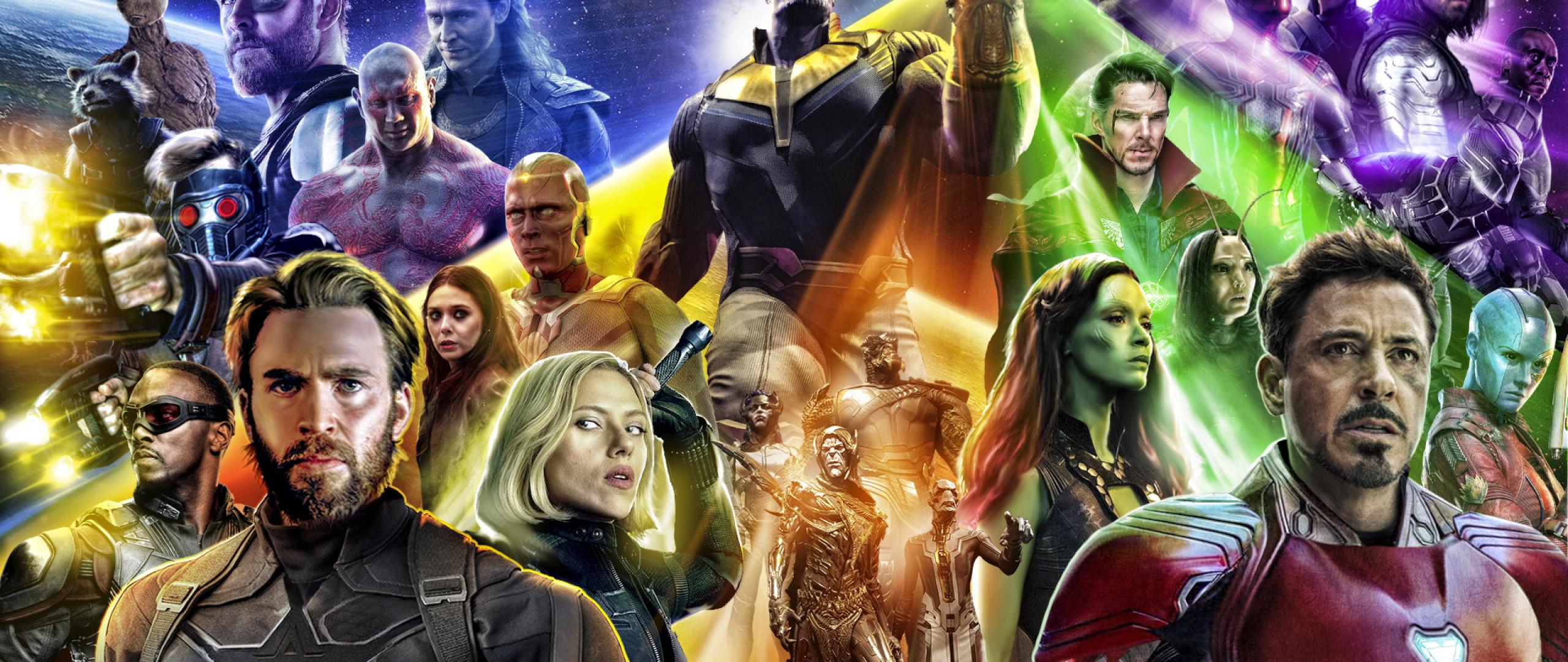 Avengers Infinity War 2018 Thanos 4k Uhd 3 2 3840x2560: Avengers Infinty War 2018 Poster, Full HD Wallpaper