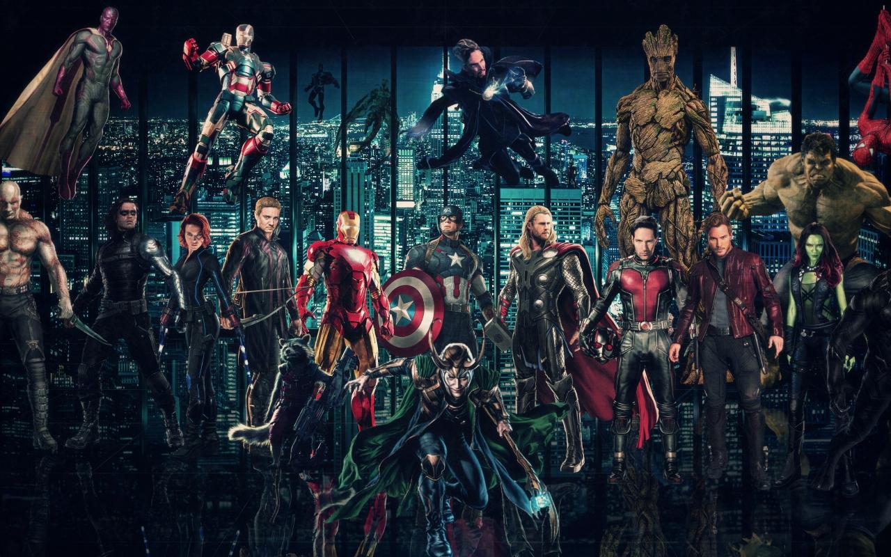10 New Avengers Infinity War Desktop Wallpaper Full Hd: Avengers Infinty War Superheroes 2018, HD 4K Wallpaper