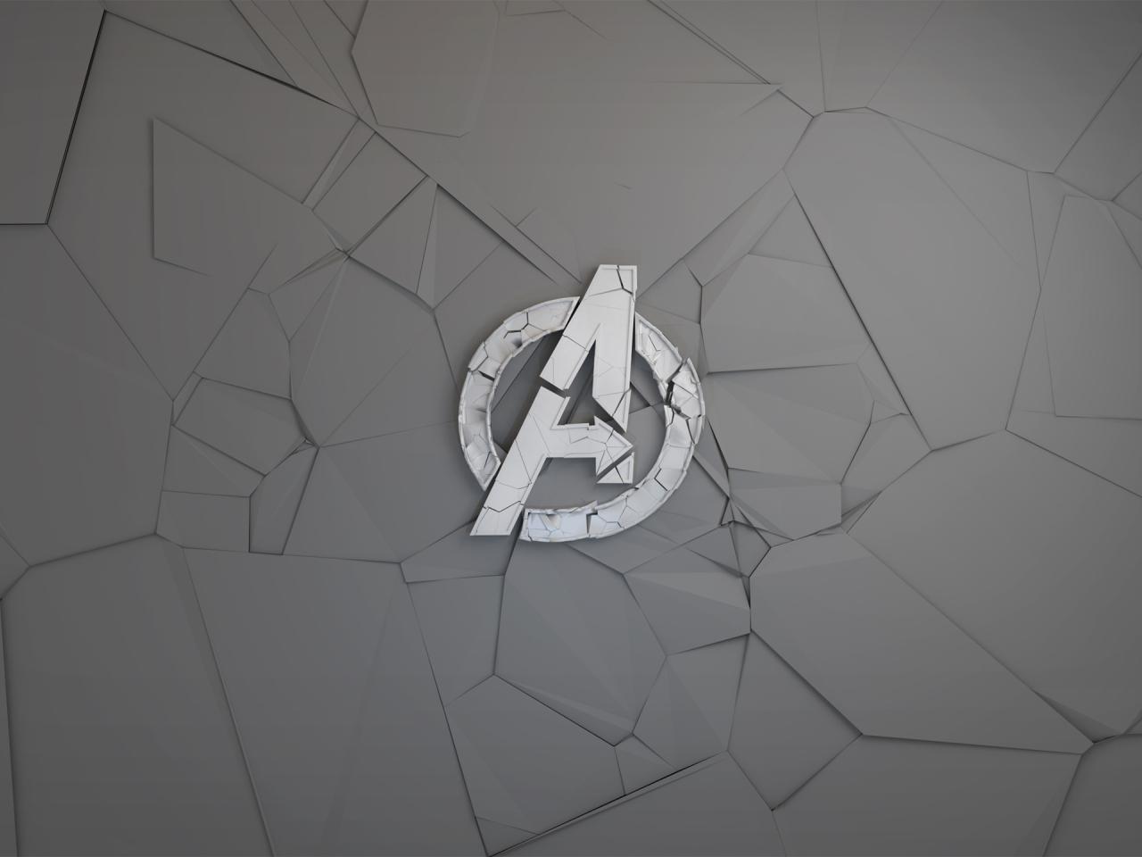 Avengers logo minimal art full hd 2k wallpaper for Minimal art logo