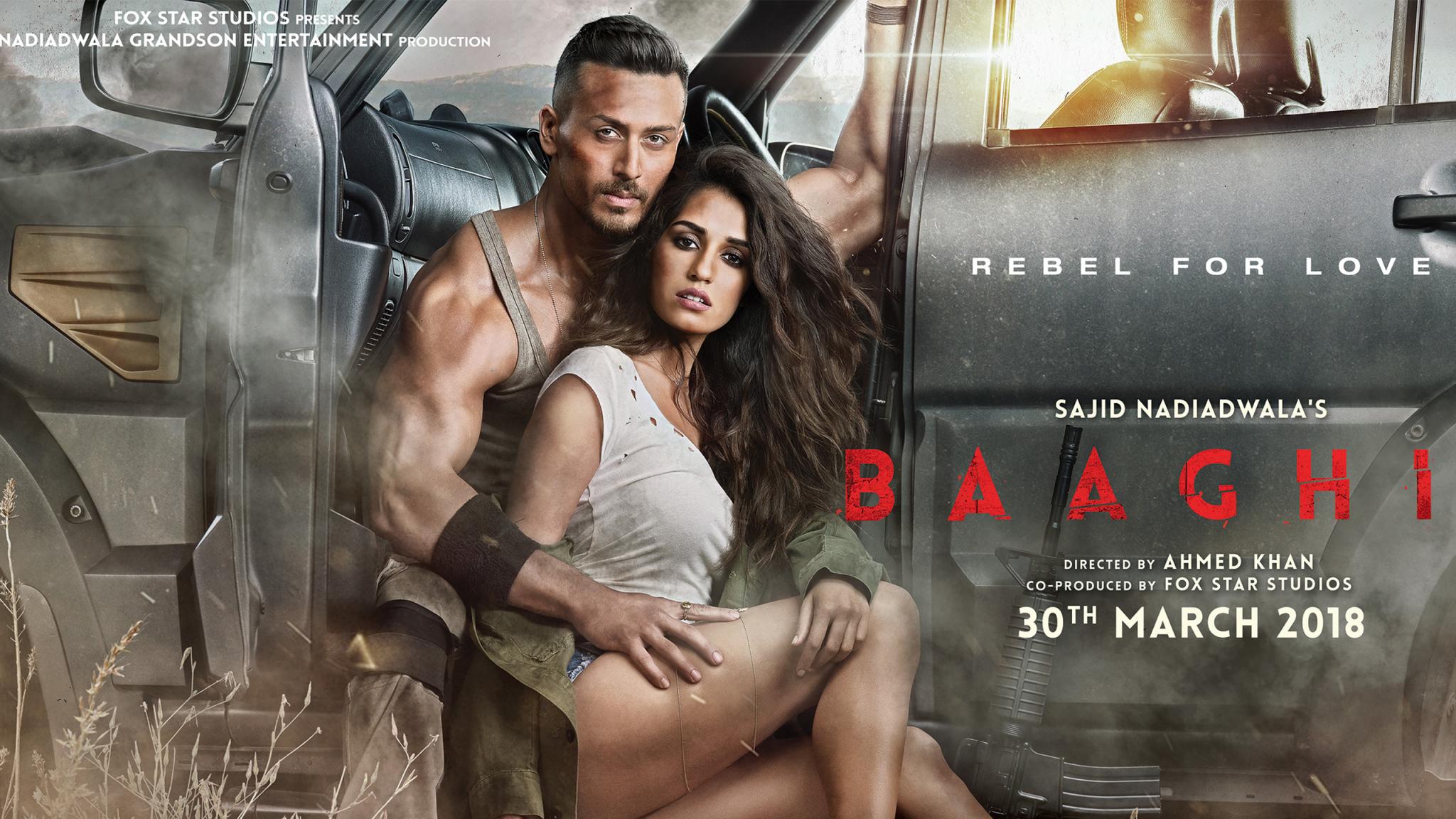 Baaghi 2 official trailer tiger shroff disha patani sajid nadiadwala ahmed khan youtubemkv - 5 10