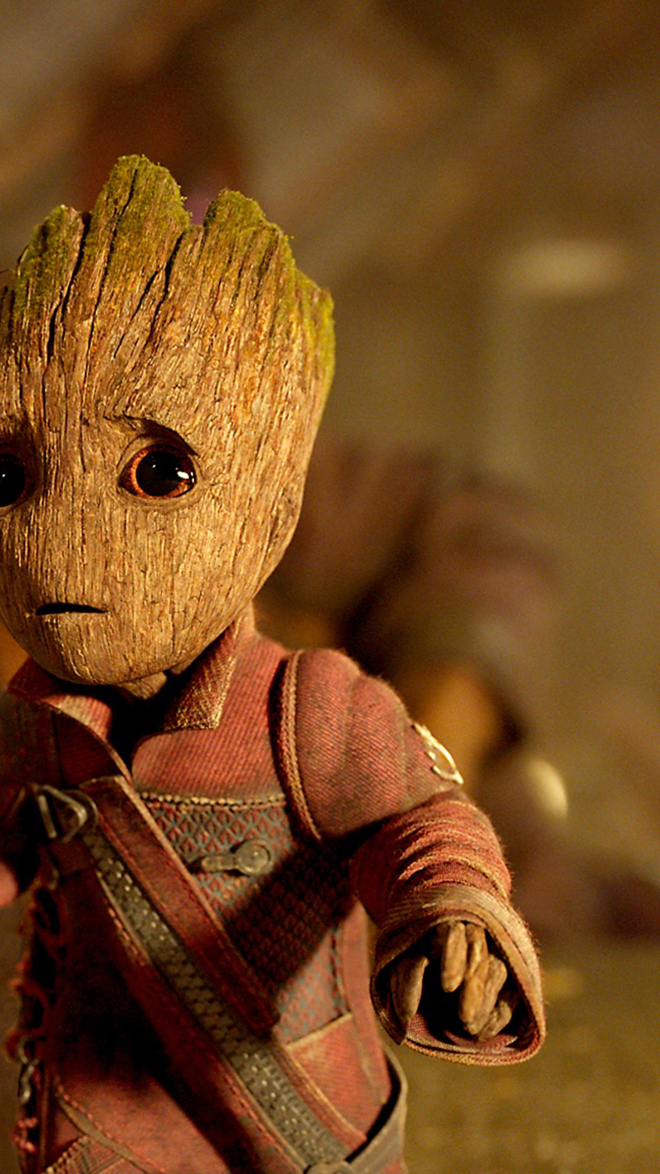 2160x3840 Baby Groot In Guardians Of The Galaxy Vol 2 Sony Xperia