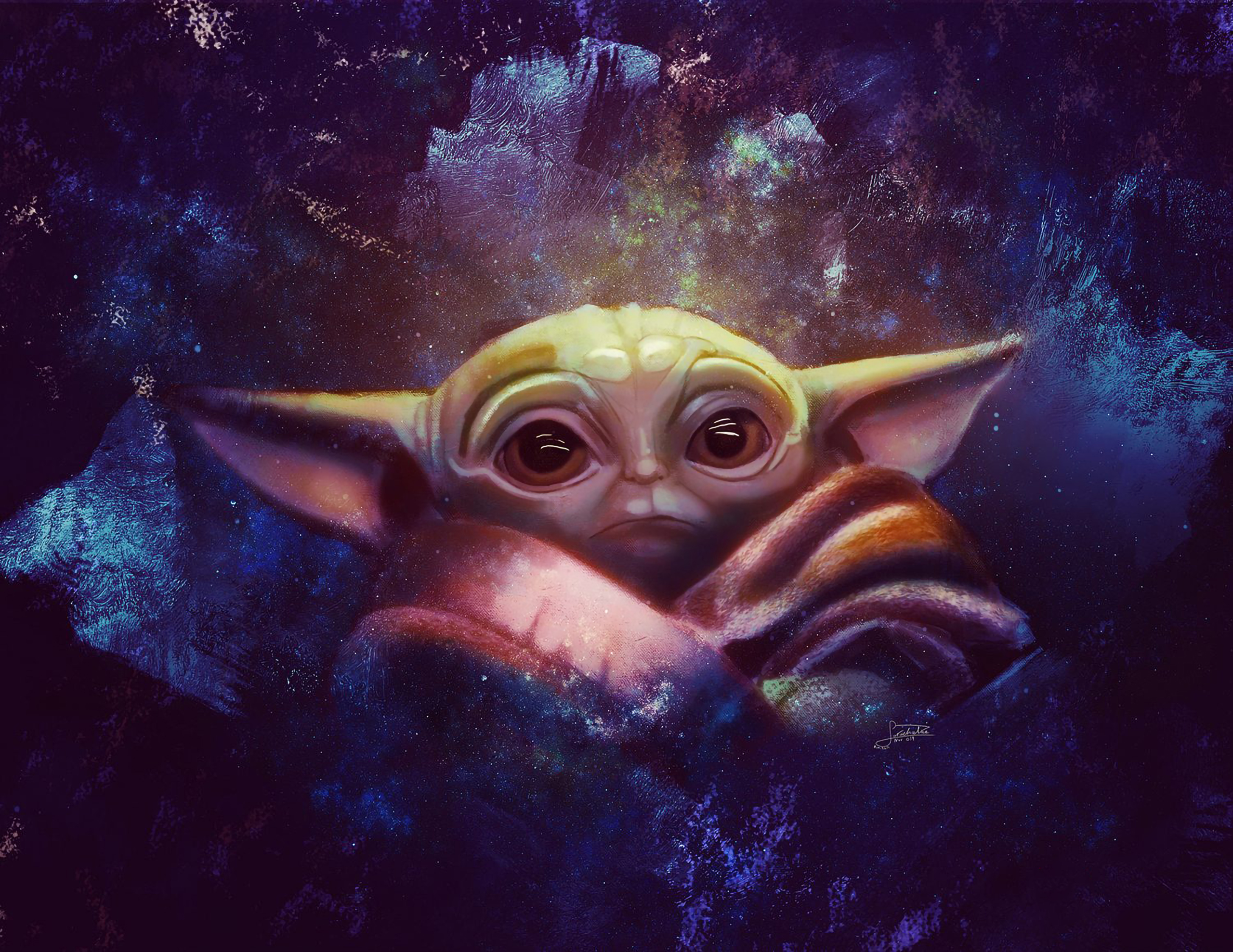 320x480 Baby Yoda 2020 Art Apple Iphone Ipod Touch Galaxy Ace Wallpaper Hd Tv Series 4k Wallpapers Images Photos And Background
