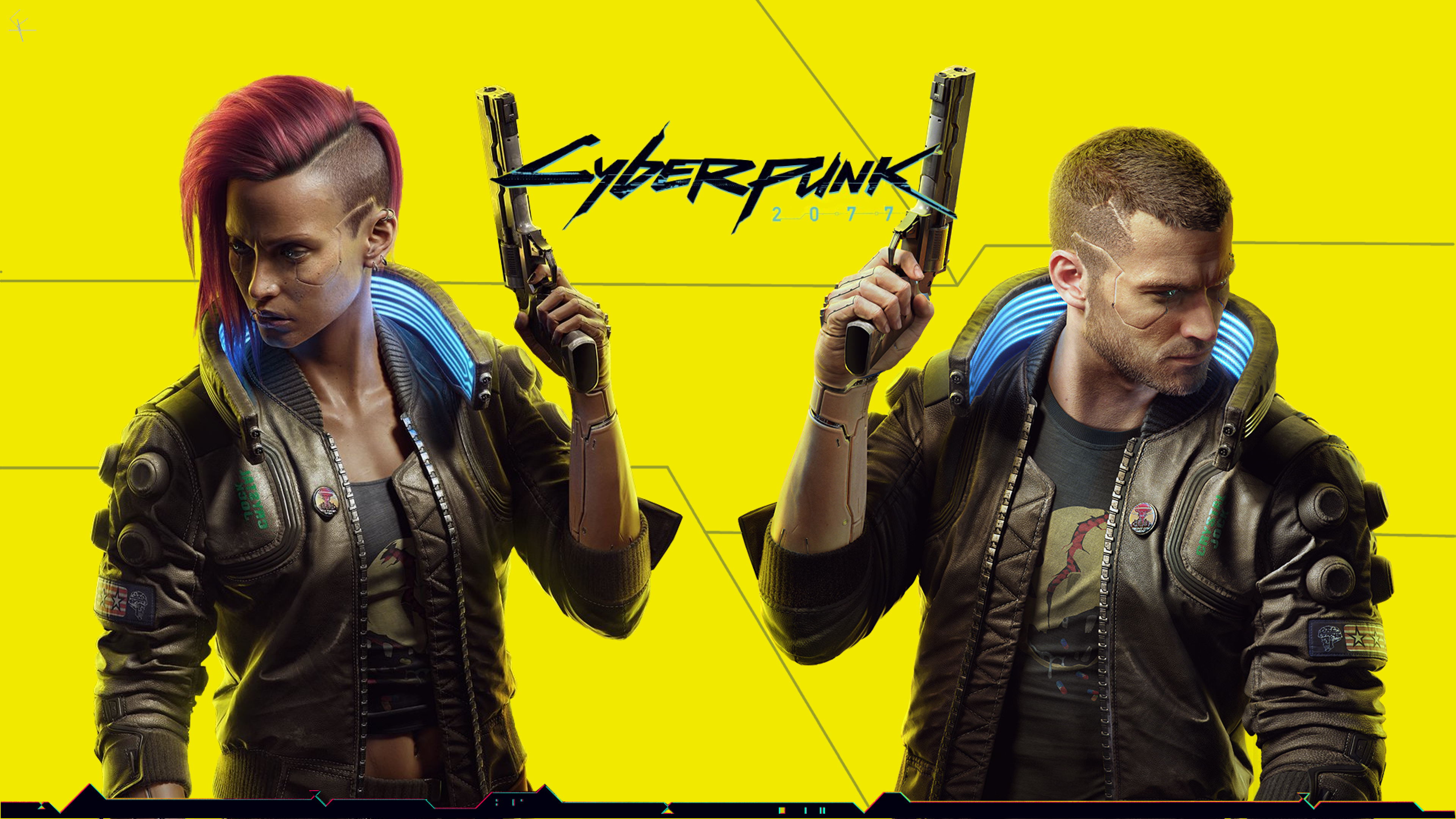 3840x2160 Background of Cyberpunk 2077 4K Wallpaper, HD ...