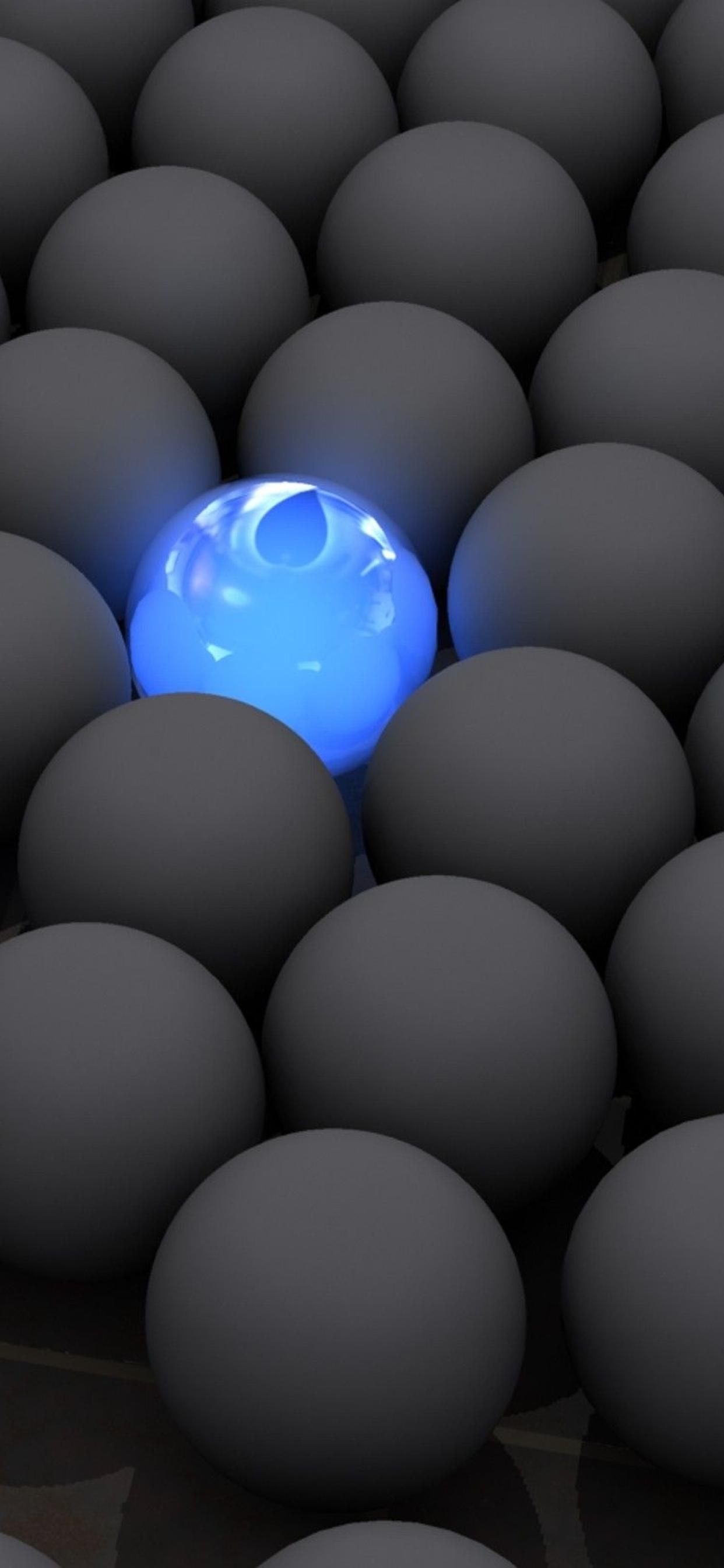1242x2688 balls, lights, neon Iphone XS ...