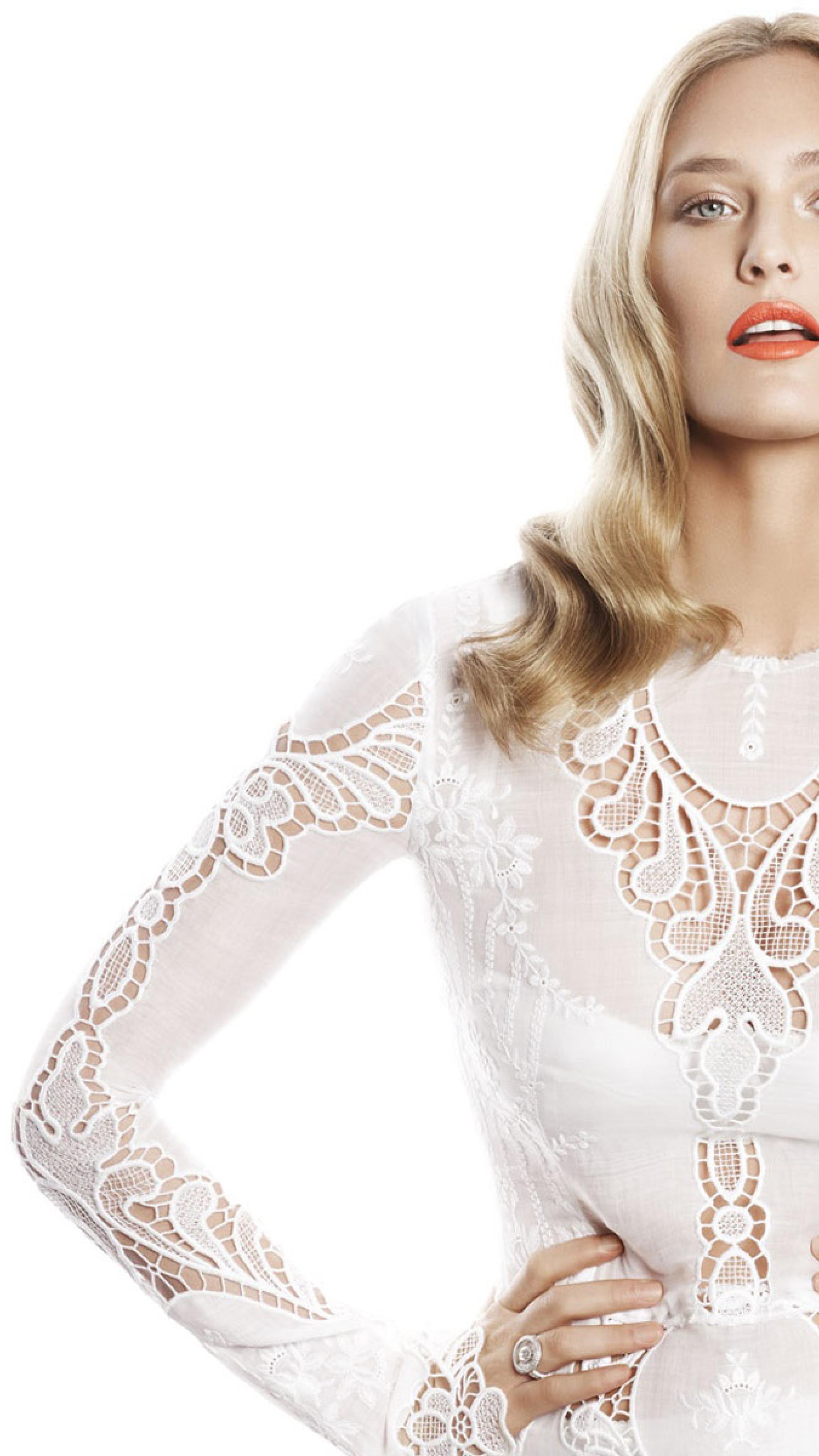 Bar Refaeli In White Dress Photoshoot, Full HD Wallpaper Bar Refaeli