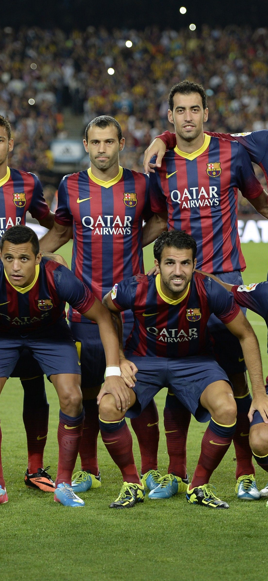 1125x2436 barcelona, club barcelona, composition Iphone XS ...