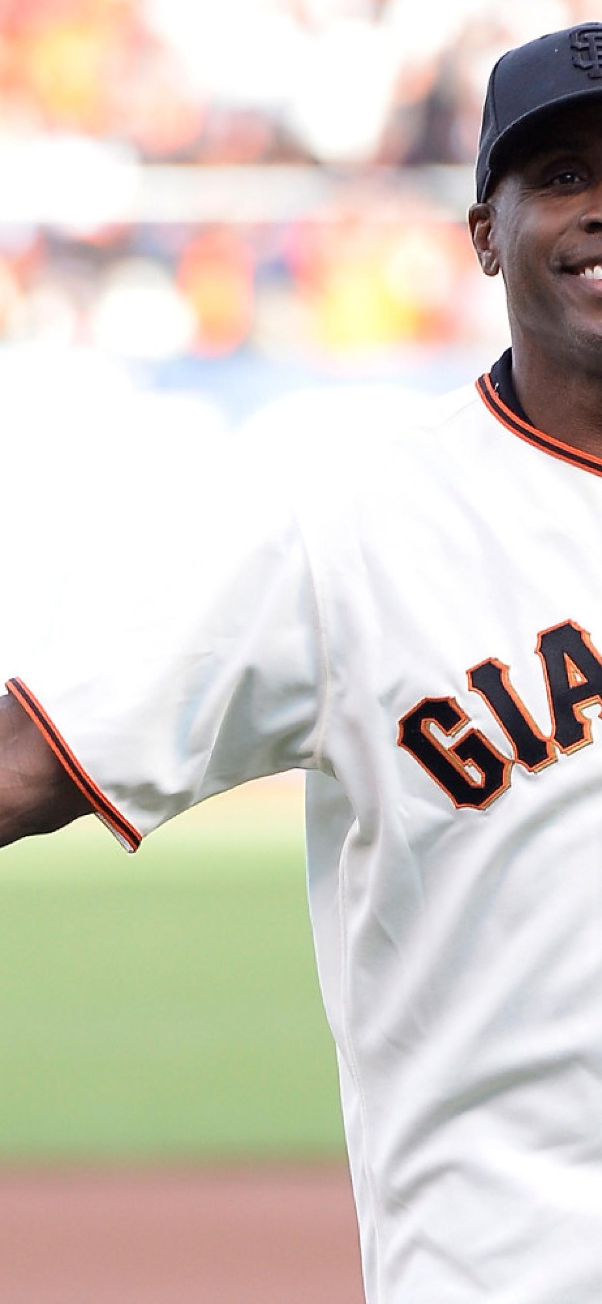 1242x2688 Barry Bonds Baseball Player San Francisco Giants