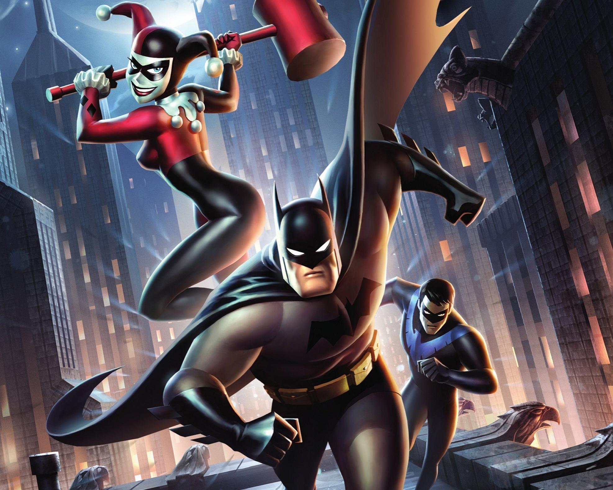 Top Wallpaper Movie Harley Quinn - batman-and-harley-quinn-sci-fi-movie-poster_58362_1974x1578  HD_628957.jpg