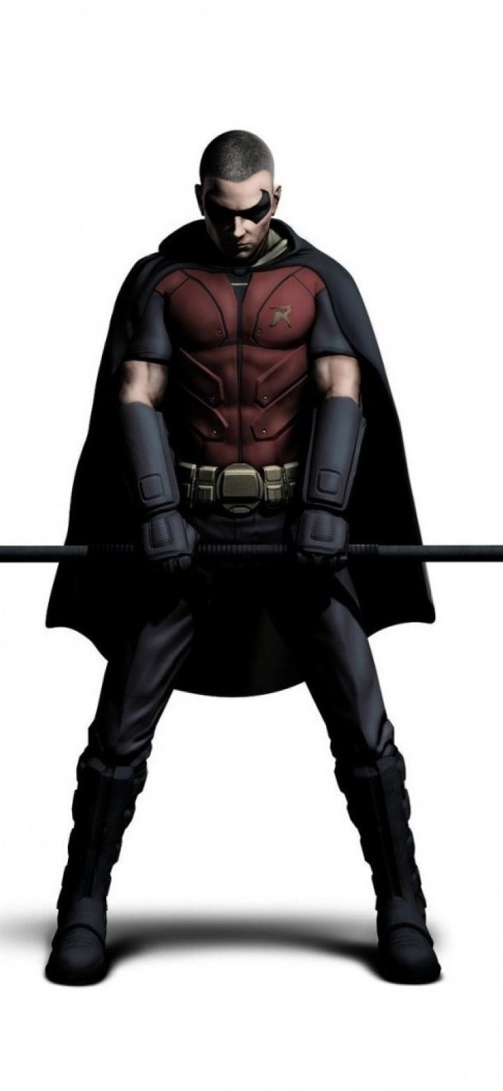 720x1560 Batman Arkham City Art Robin 720x1560 Resolution