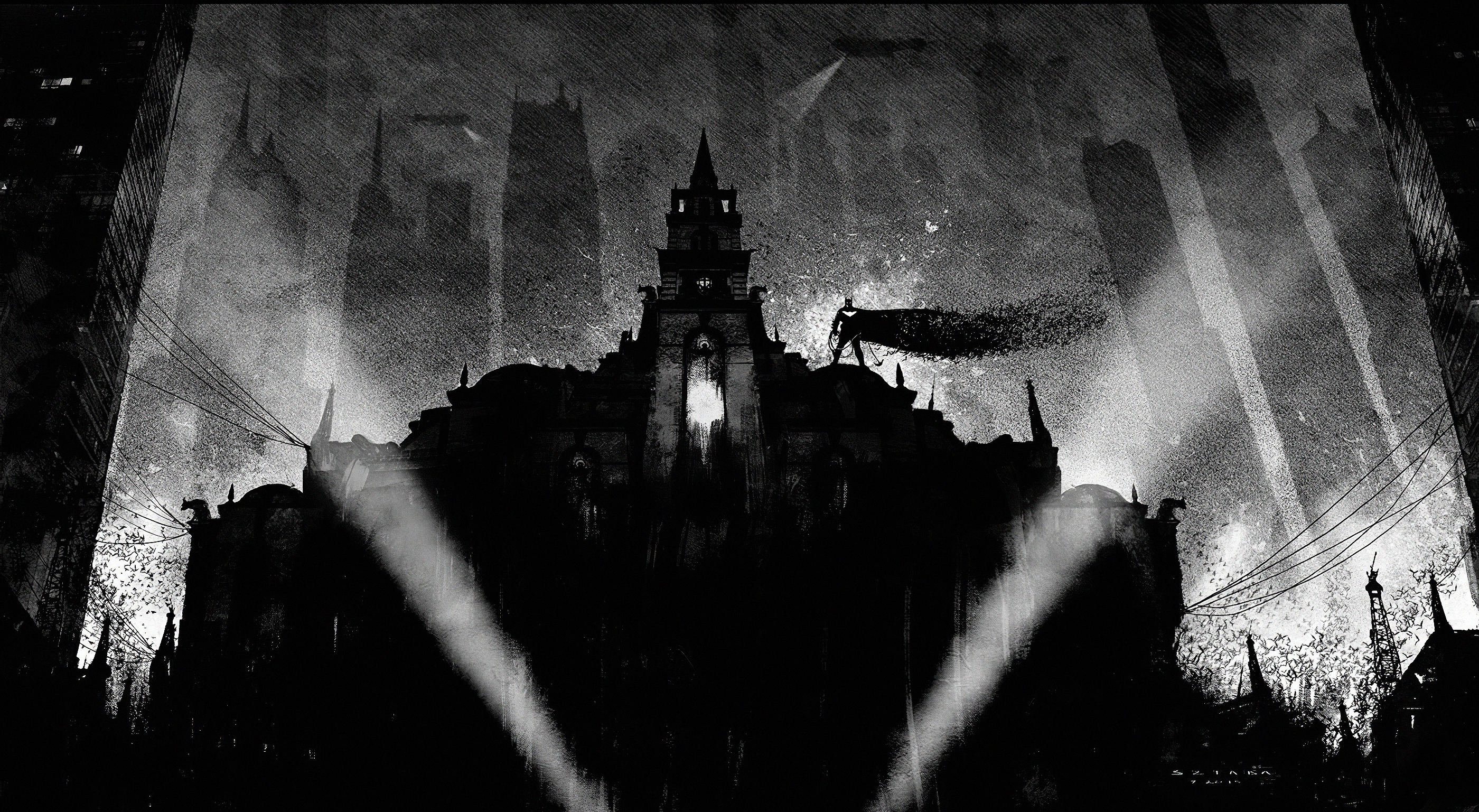 Batman Dark Theme Wallpaper Hd Superheroes 4k Wallpapers