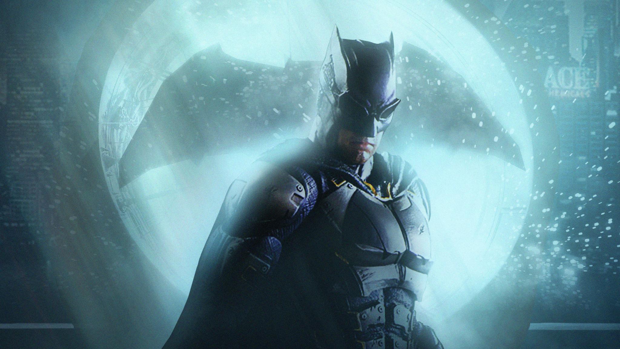 2048x1152 Batman Justice League Dark Knight Art 2048x1152