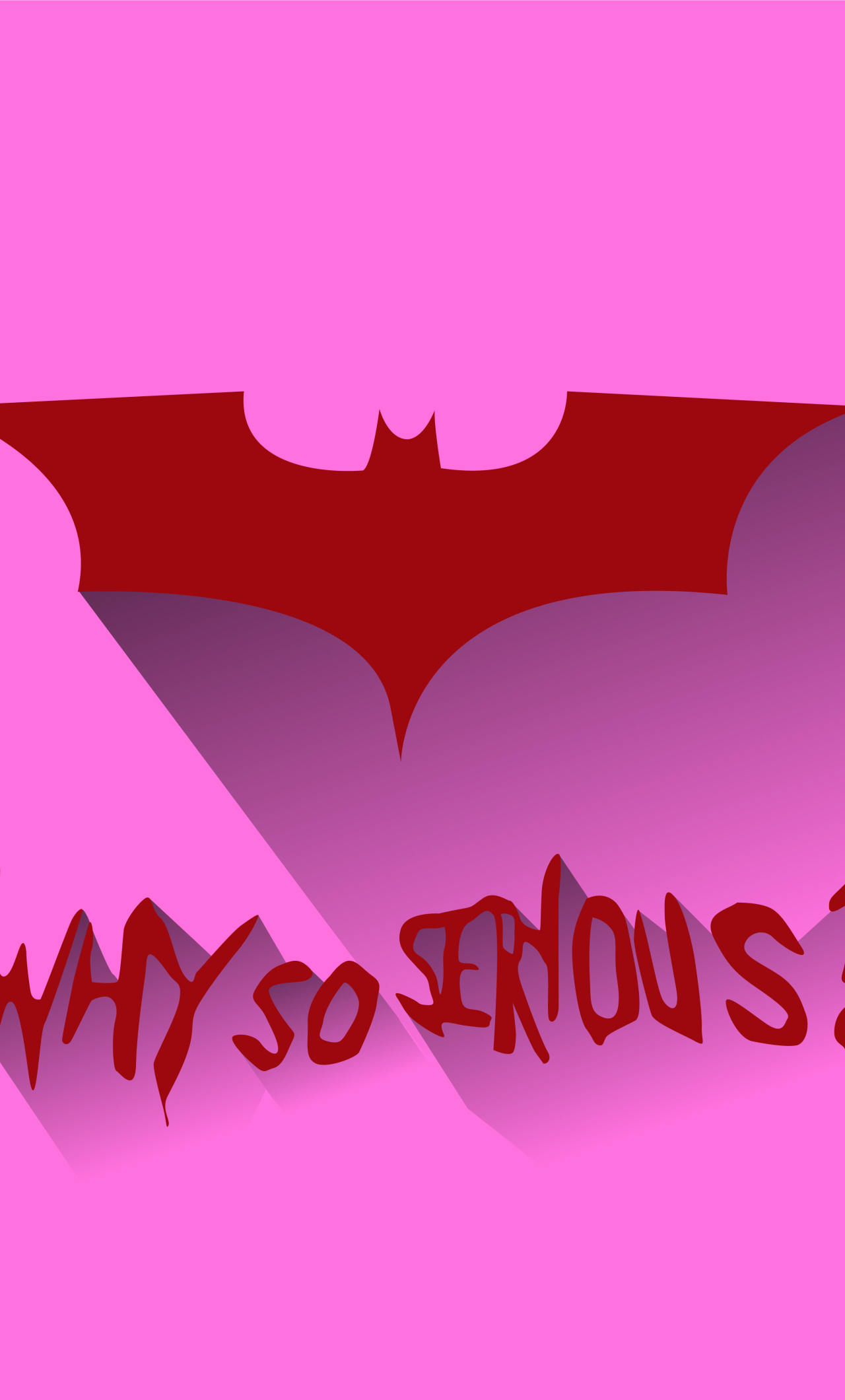 1280x2120 Batman Logo Why So Serious Iphone 6 Plus Wallpaper