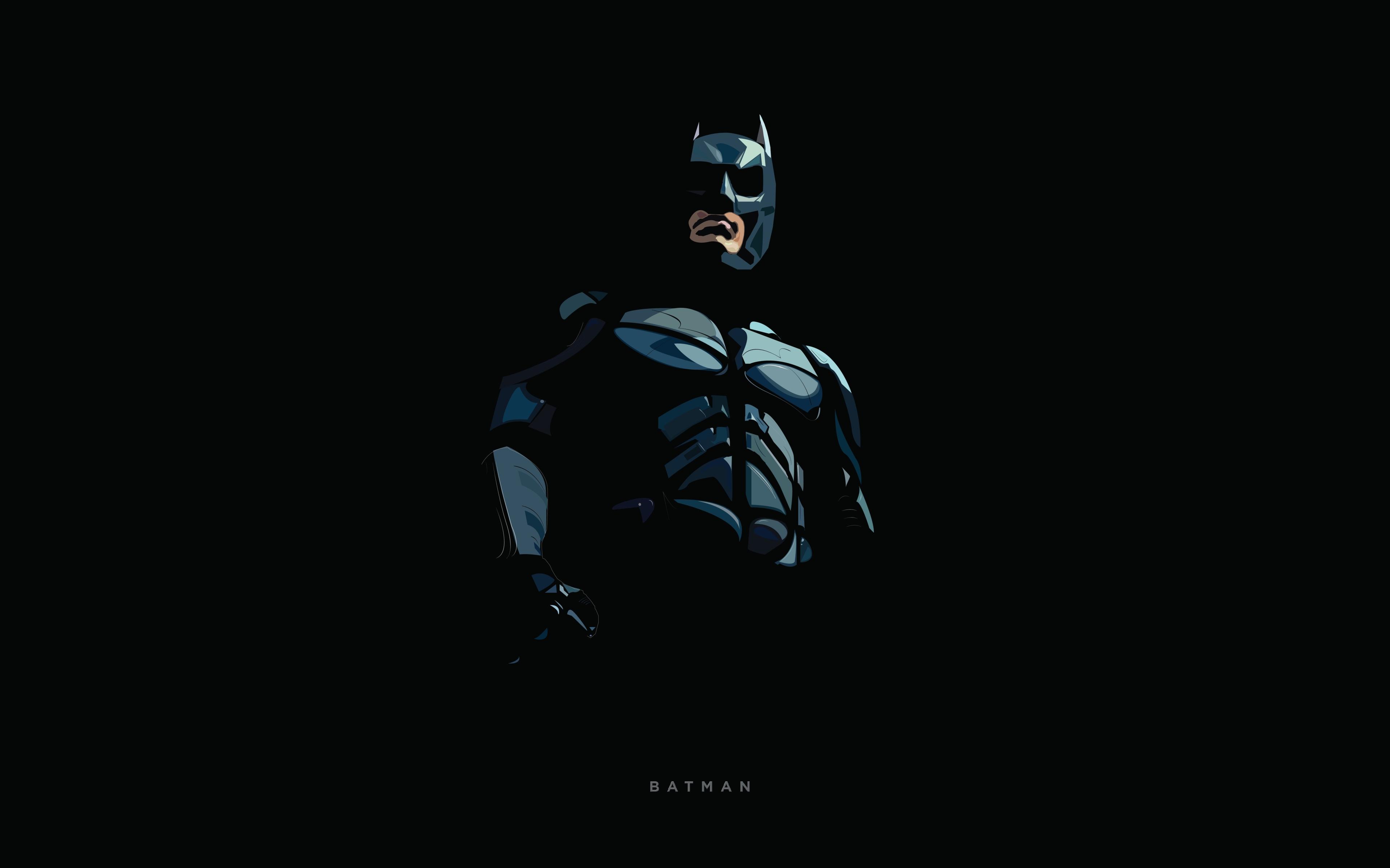 Batman minimal illustration hd 8k wallpaper - 8k minimal wallpaper ...