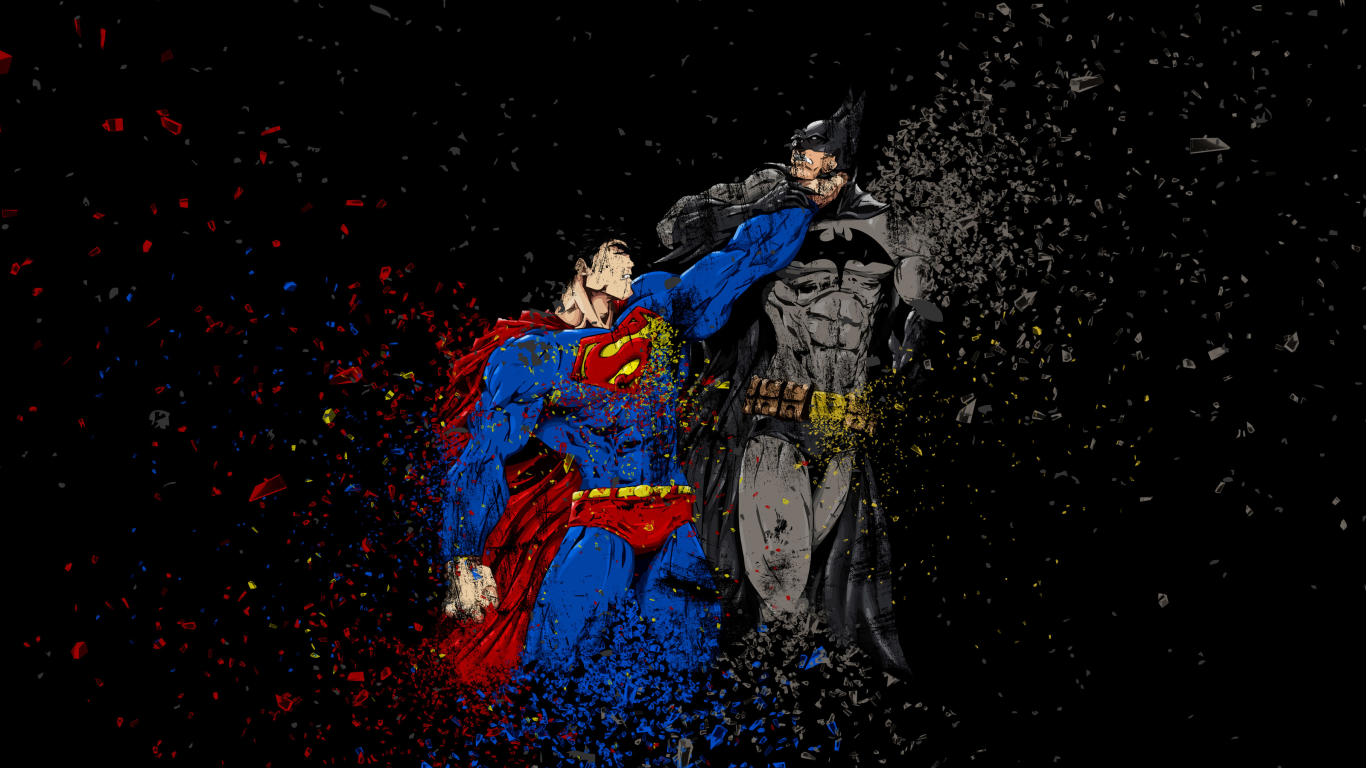 Download batman vs superman ruggon style 1366x768 resolution hd samsung voltagebd Choice Image