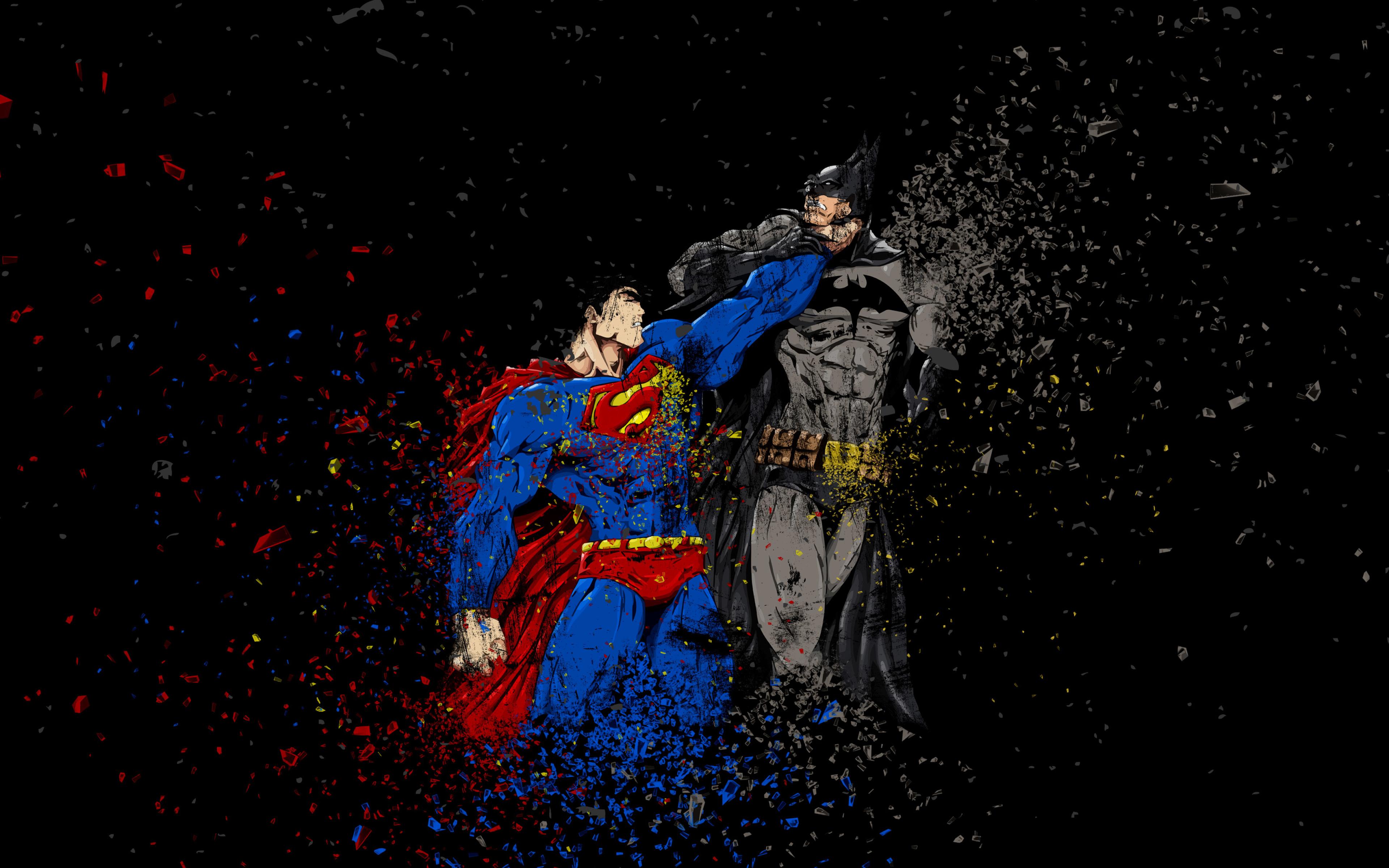 Download Batman Vs Superman Ruggon Style 1366x768 Resolution HD