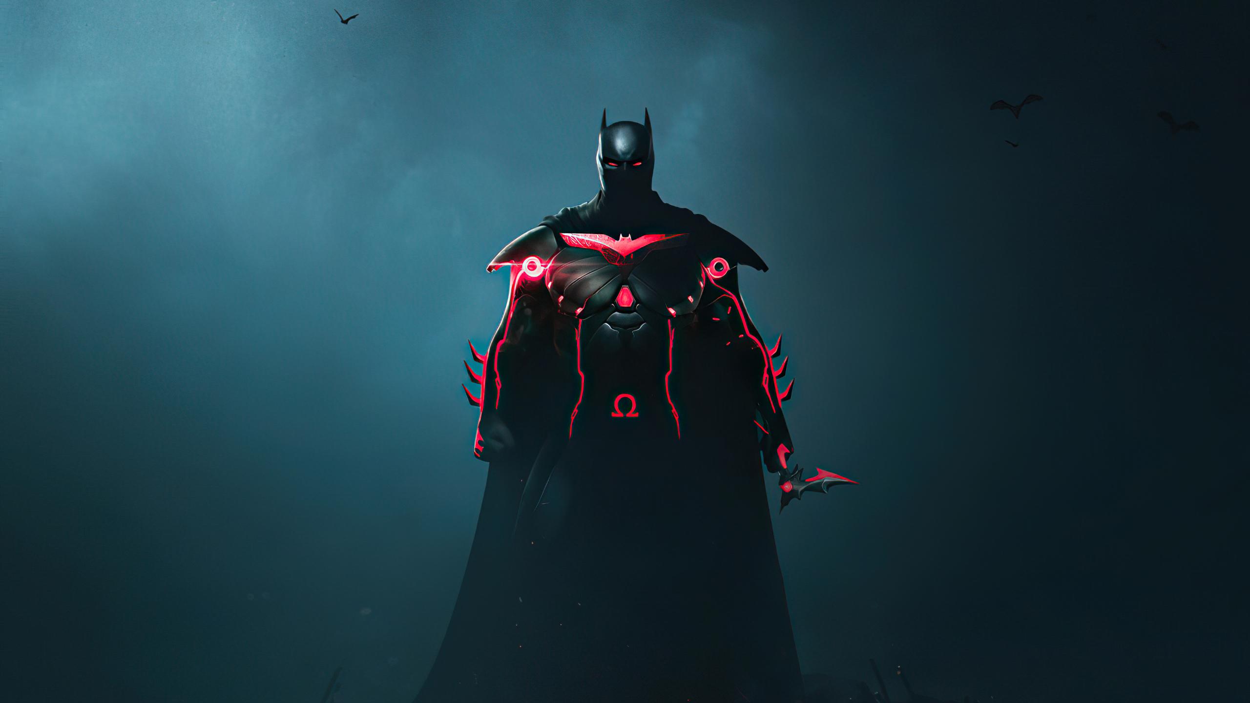 2560x1440 Batman x Cyberpunk 1440P Resolution Wallpaper ...
