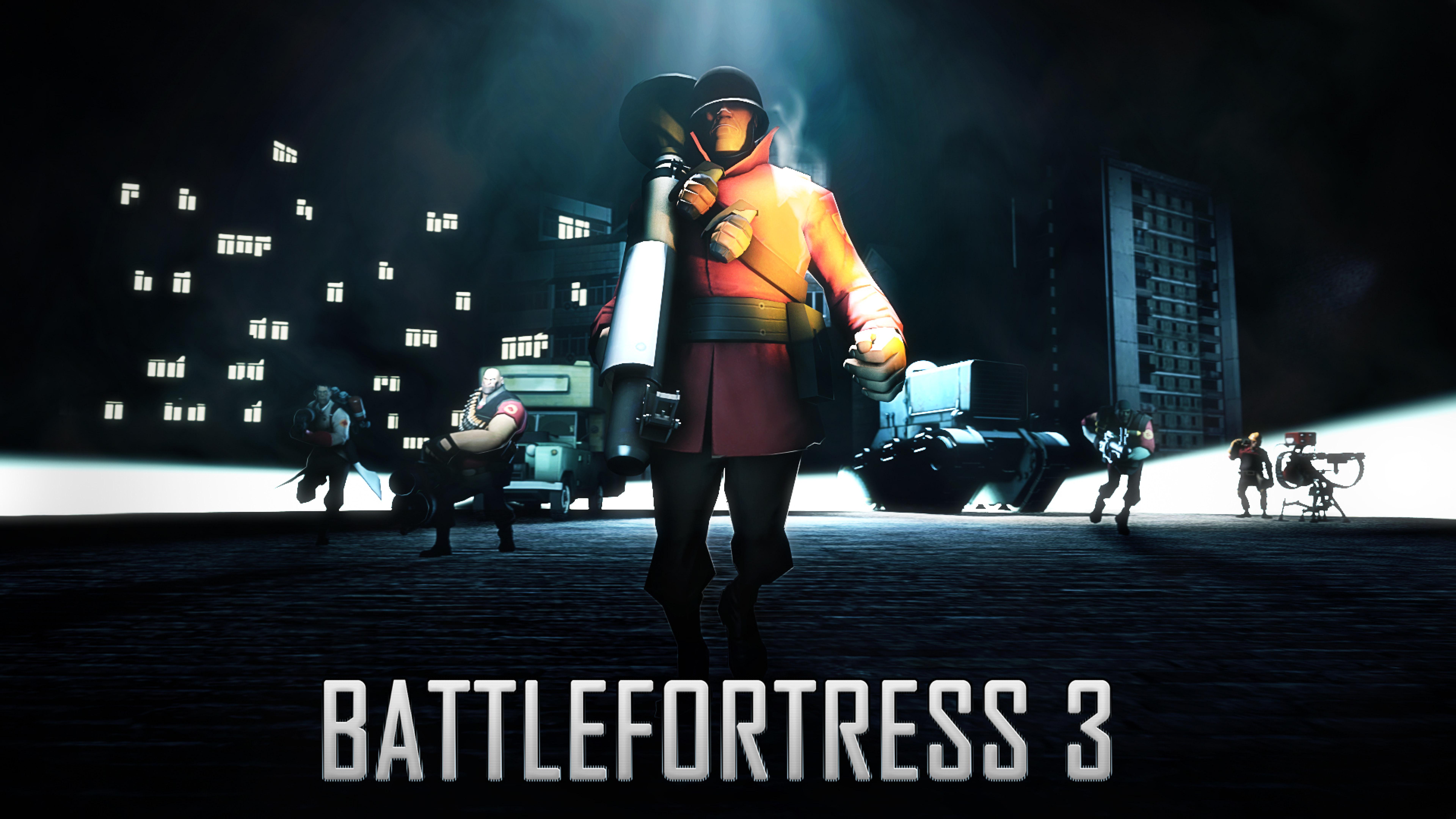 7680x4320 Battlefortress 3 Team Fortress 2 Battlefield 8k