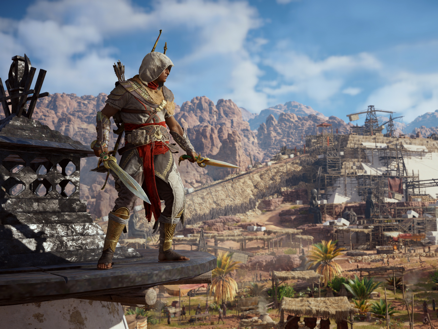 Bayek Of Siwa Assassins Creed Origins, HD 4K Wallpaper