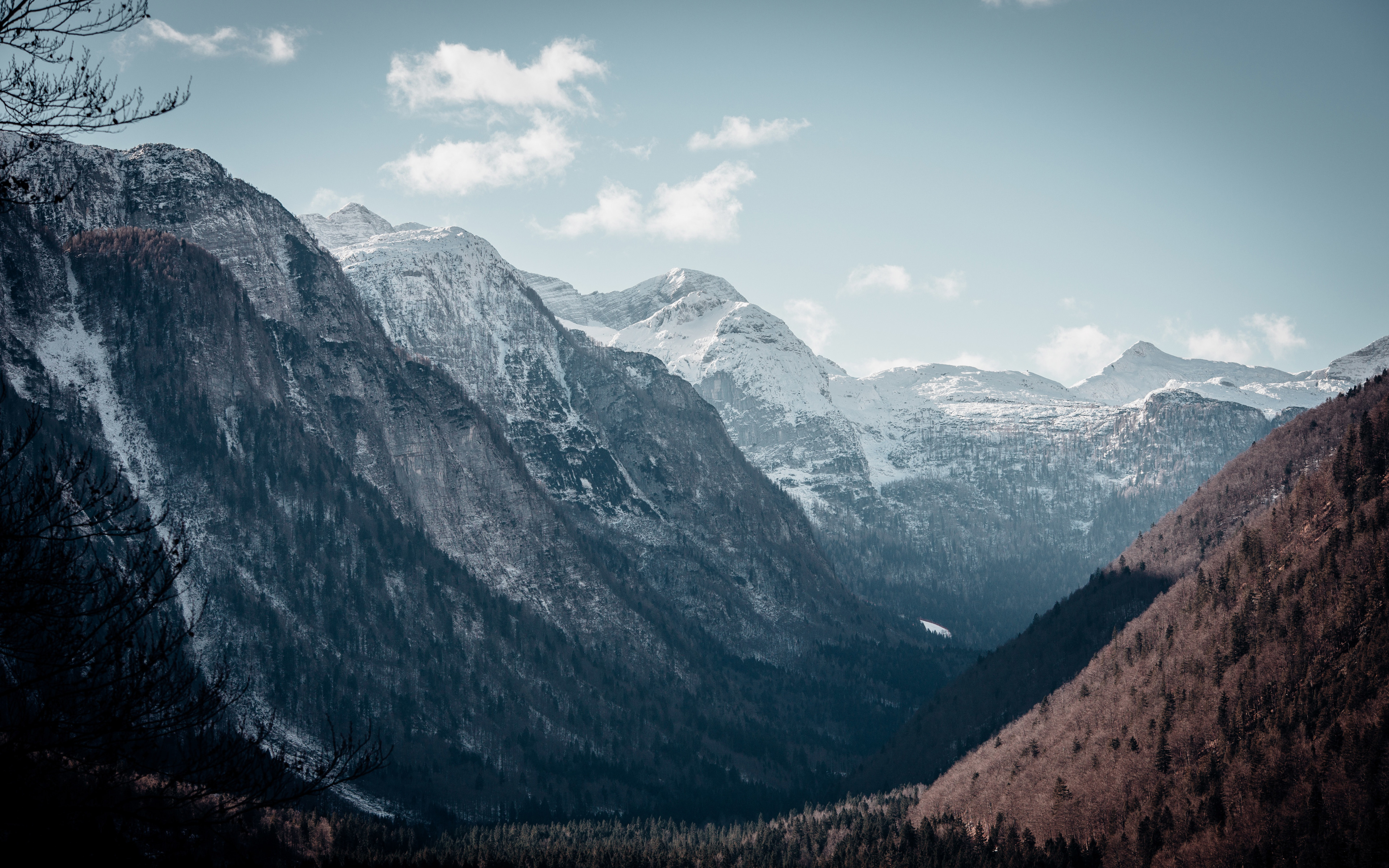 Beautiful Valley Landscape Mountains Hd 4k Wallpaper