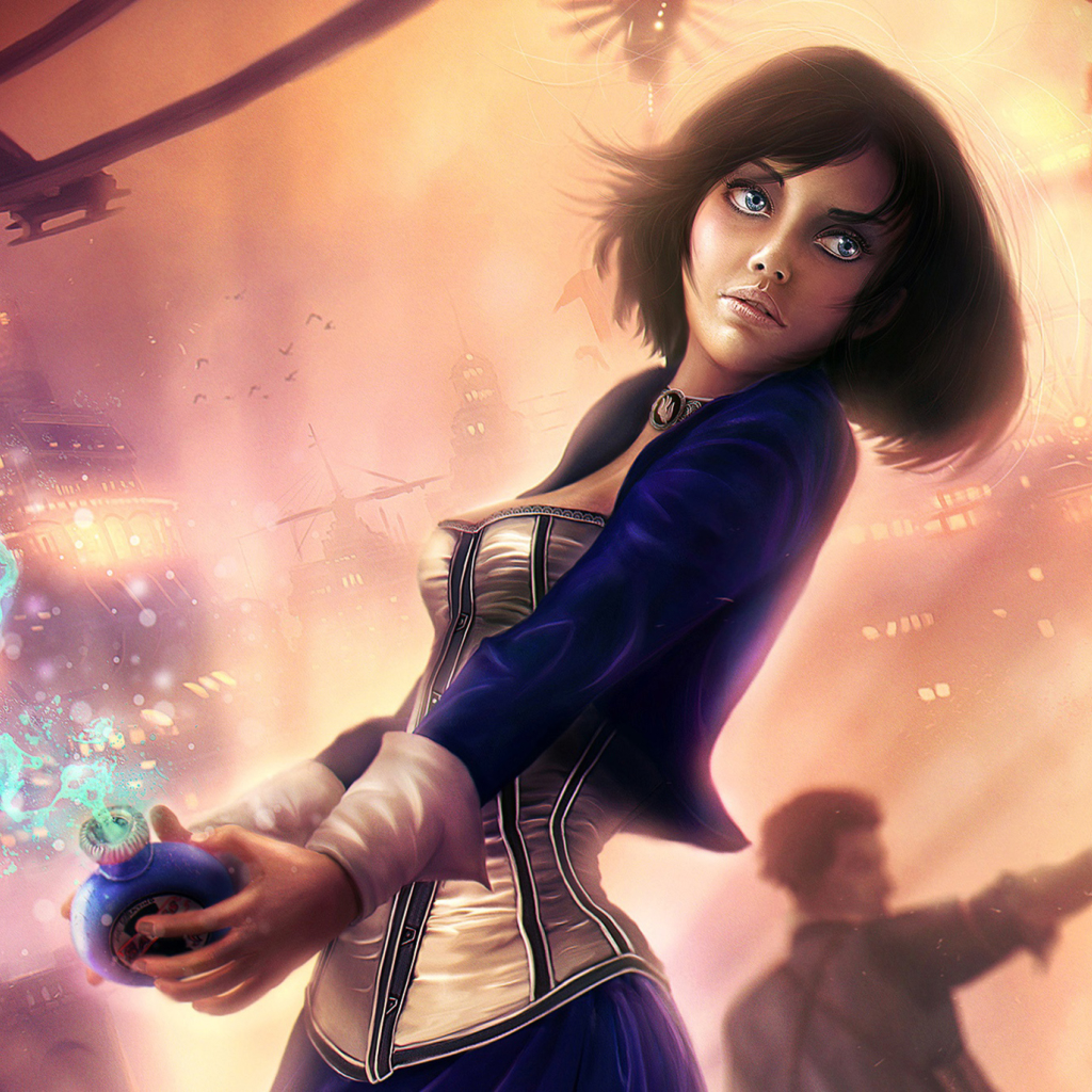 Bioshock Infinite Booker Dewitt Full HD Wallpaper
