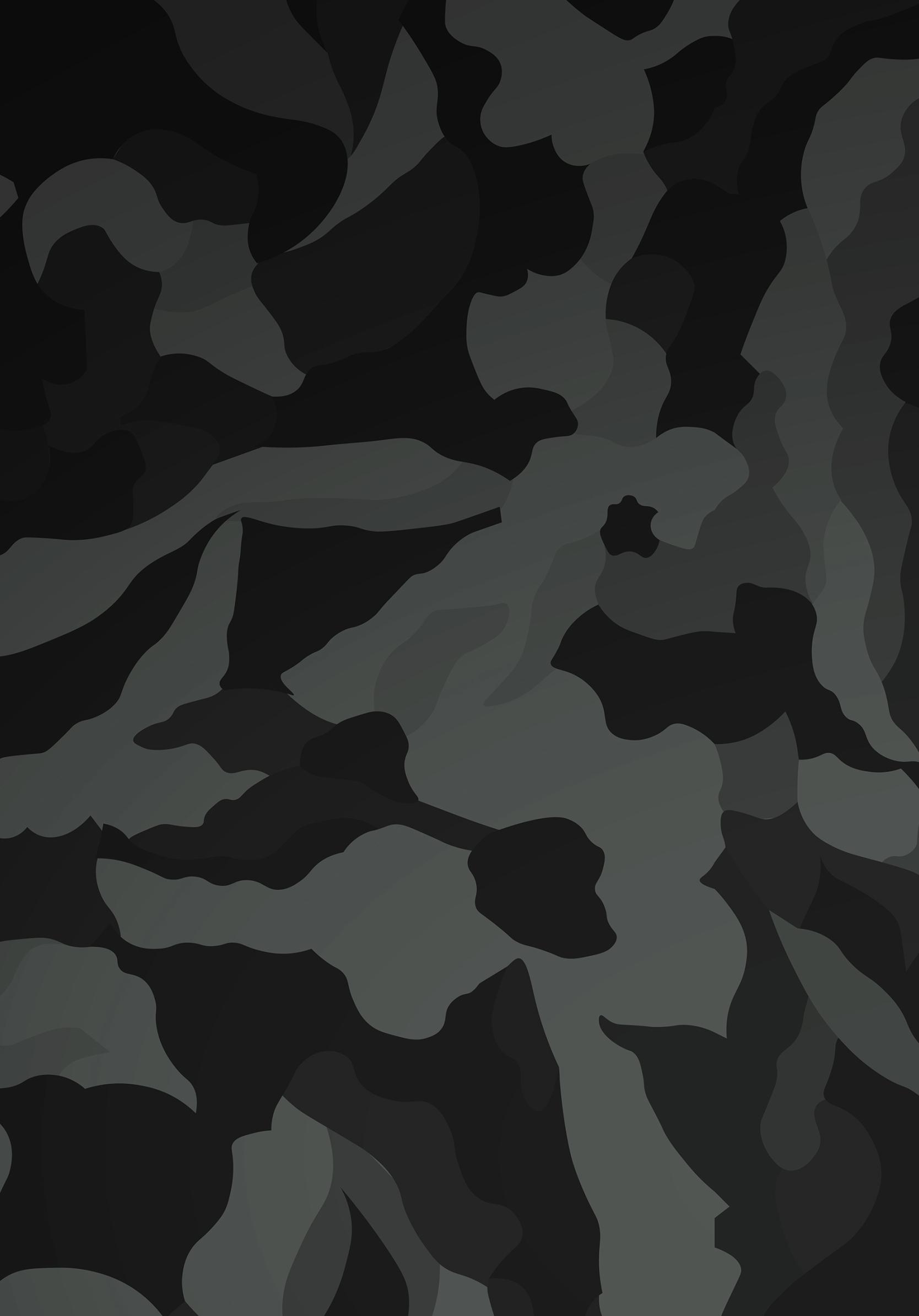 1668x2388 Black Abstract 4K 1668x2388 ...