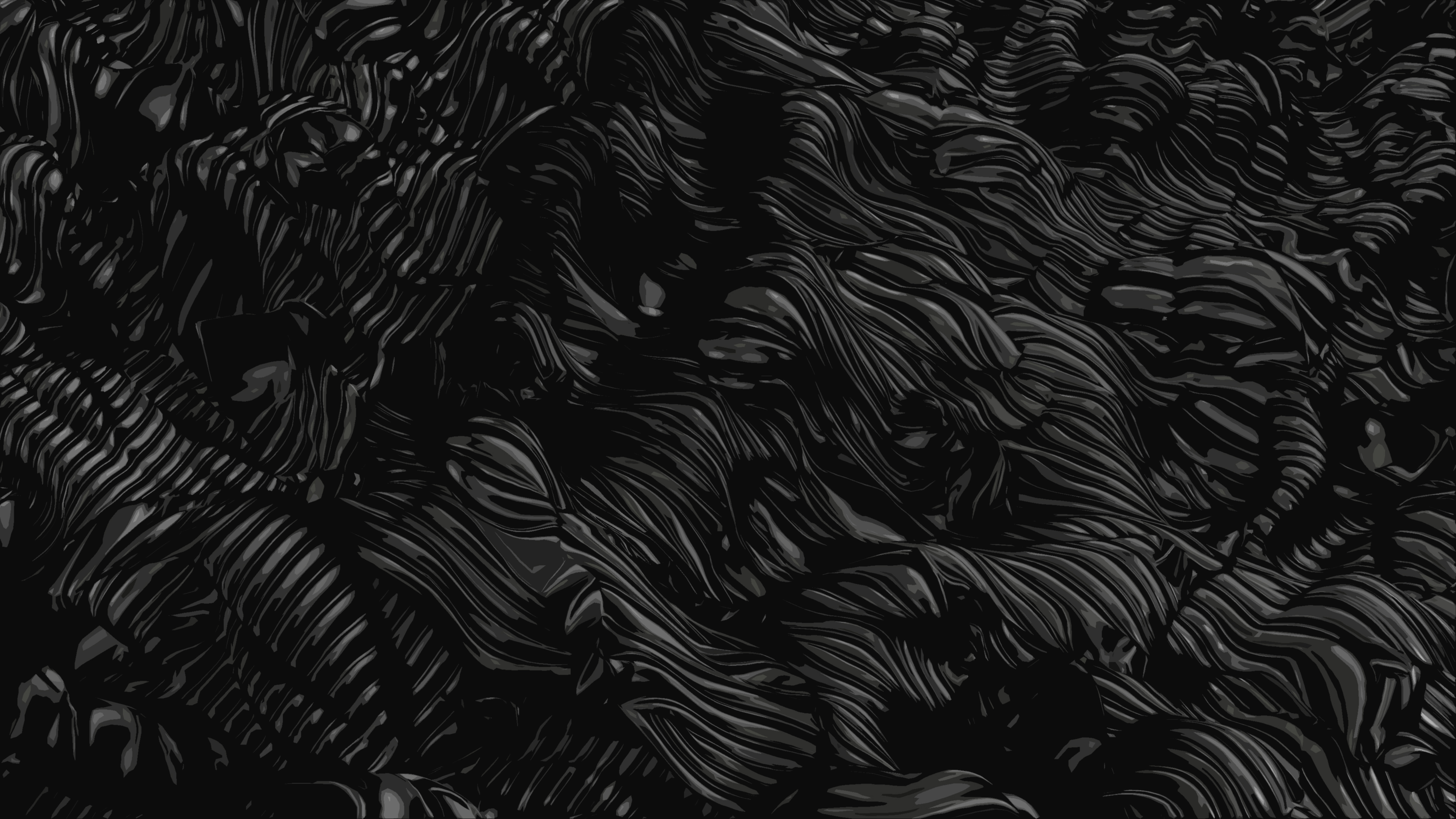 Dark Abstract Wallpaper 4k Ultra Hd