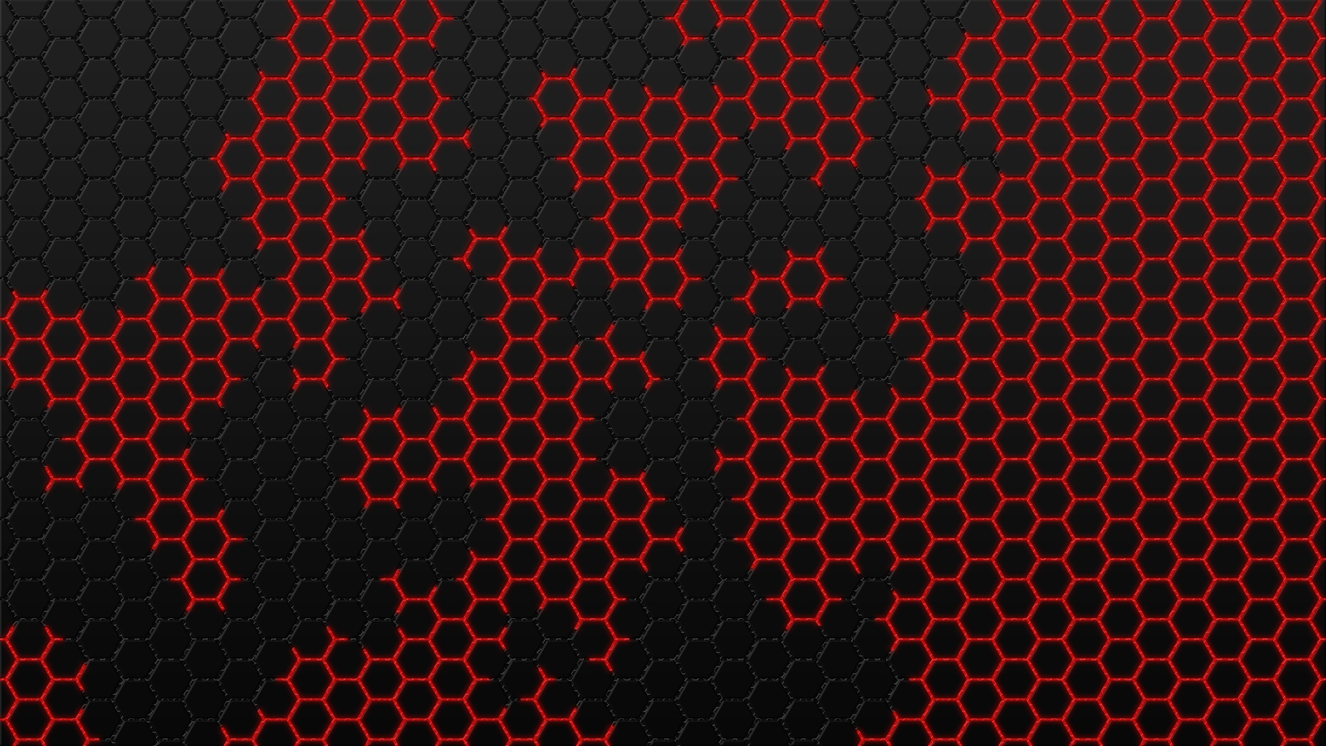 Black And Red Hexagon Wallpaper Hd Artist 4k Wallpapers Images