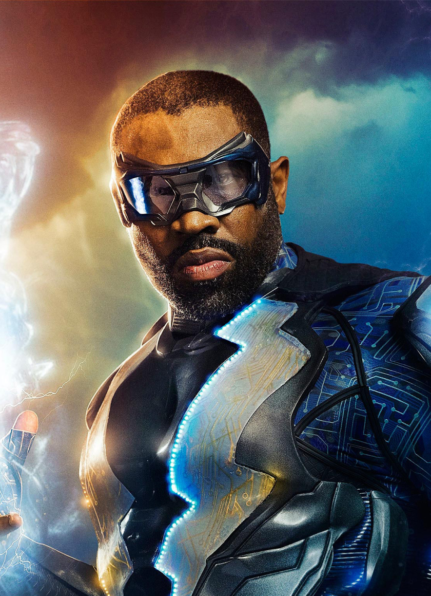 Black Lightning Cress Williams Tv Series 2018 Full Hd 2k
