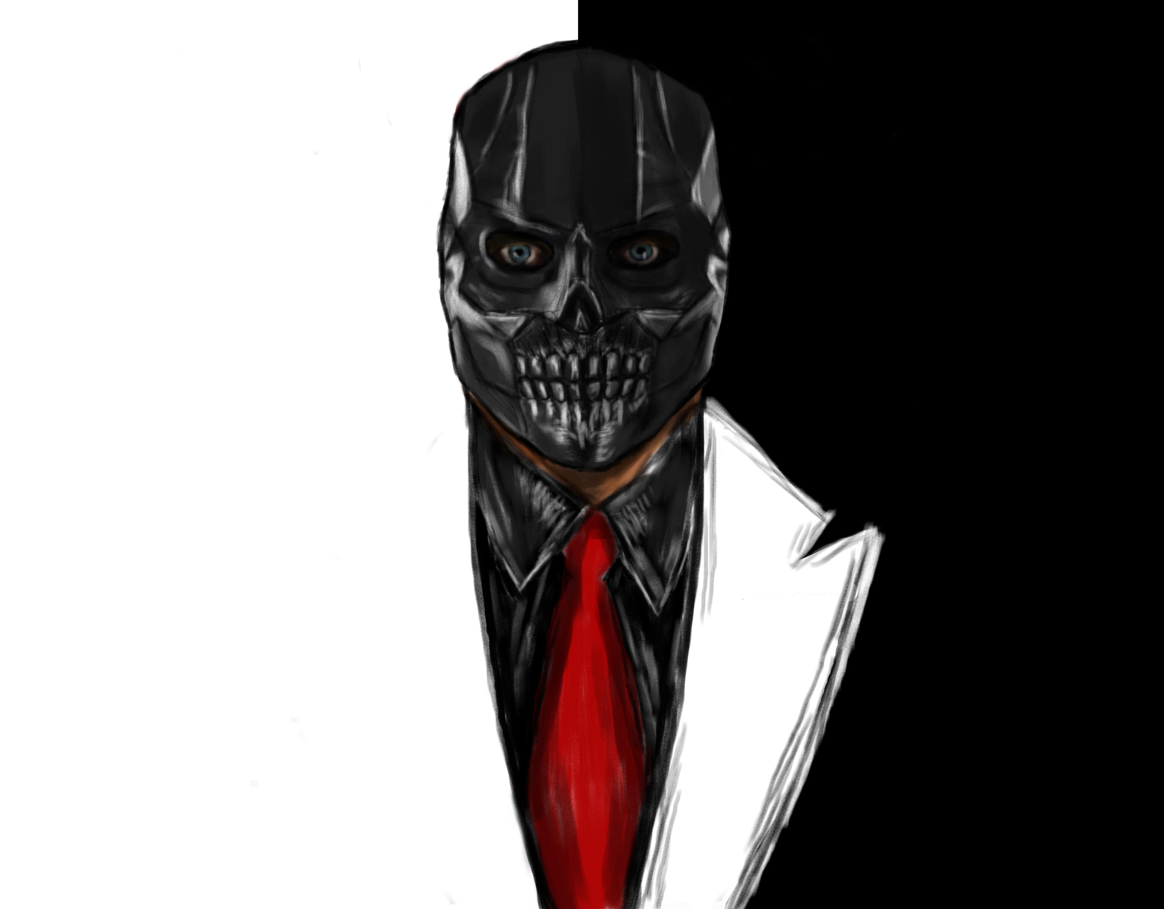 1125x2436 Black Mask Art Iphone Xs Iphone 10 Iphone X Wallpaper