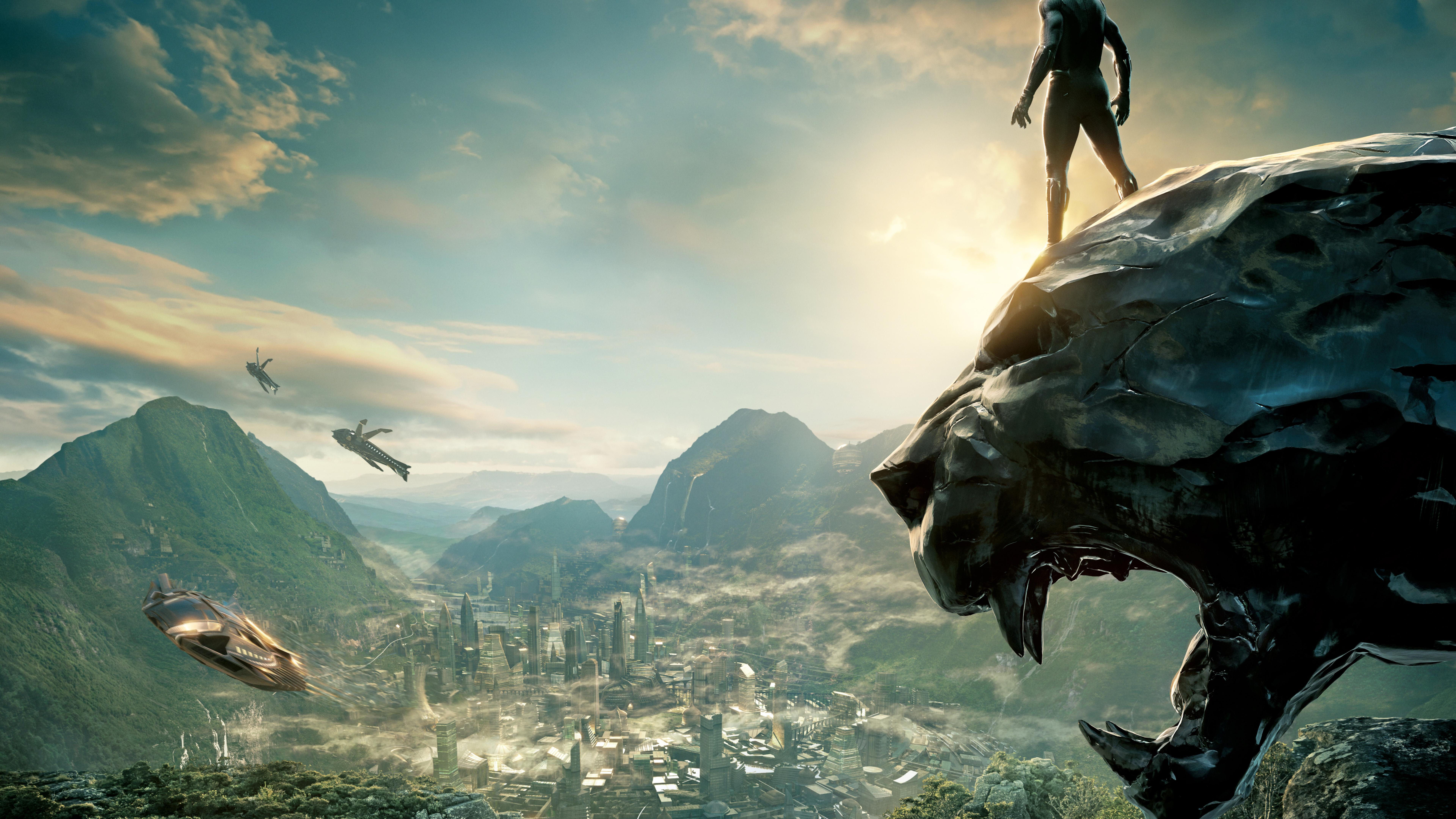 Black Panther 2017  Hd 8k Wallpaper