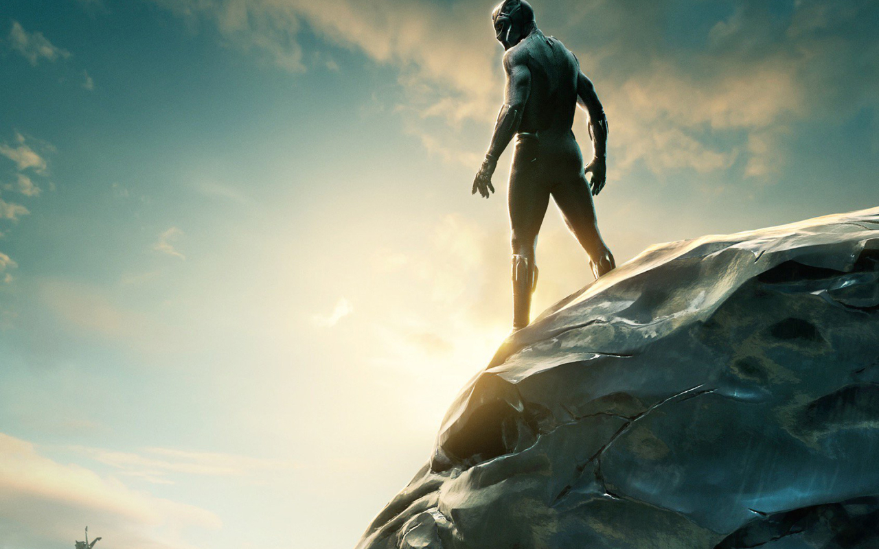 Black Panther 2018 Movie Still Full Hd Wallpaper